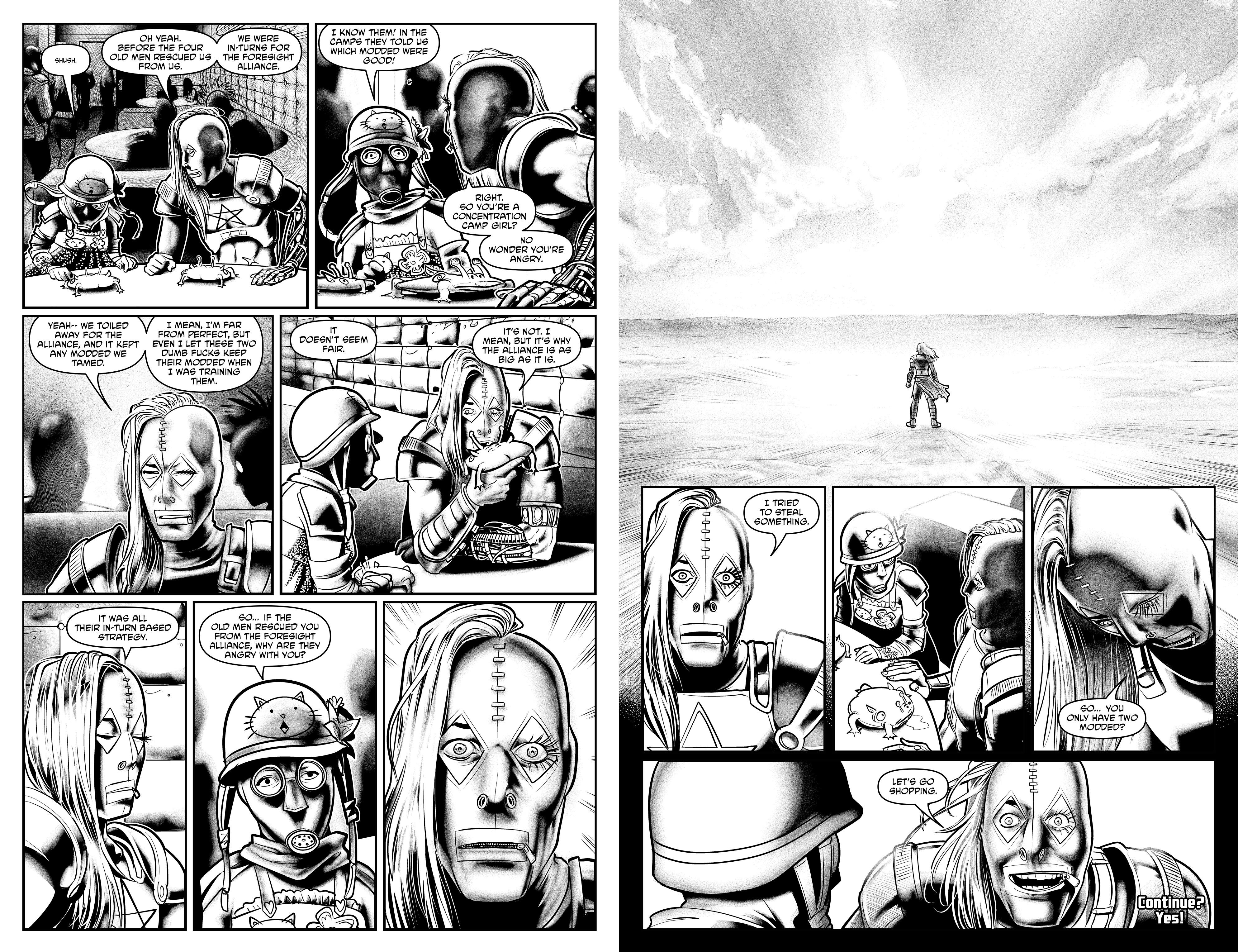 Read online Alan Moore's Cinema Purgatorio comic -  Issue #10 - 27