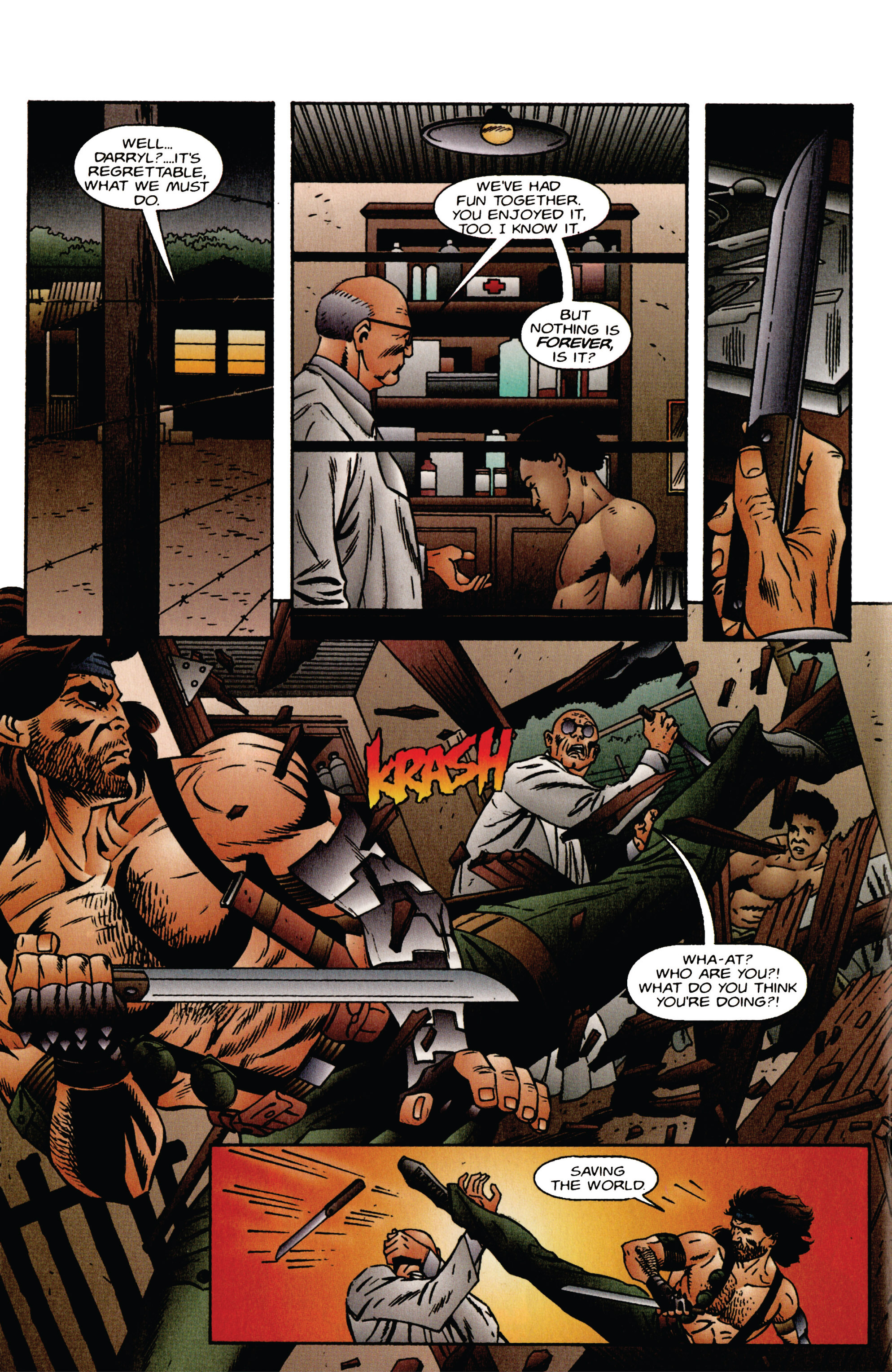 Read online Eternal Warrior (1992) comic -  Issue #40 - 17