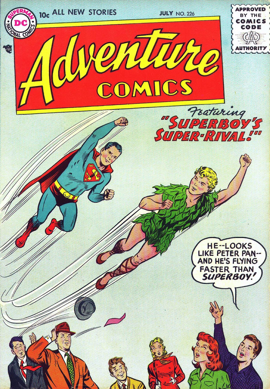 Read online Adventure Comics (1938) comic -  Issue #226 - 1