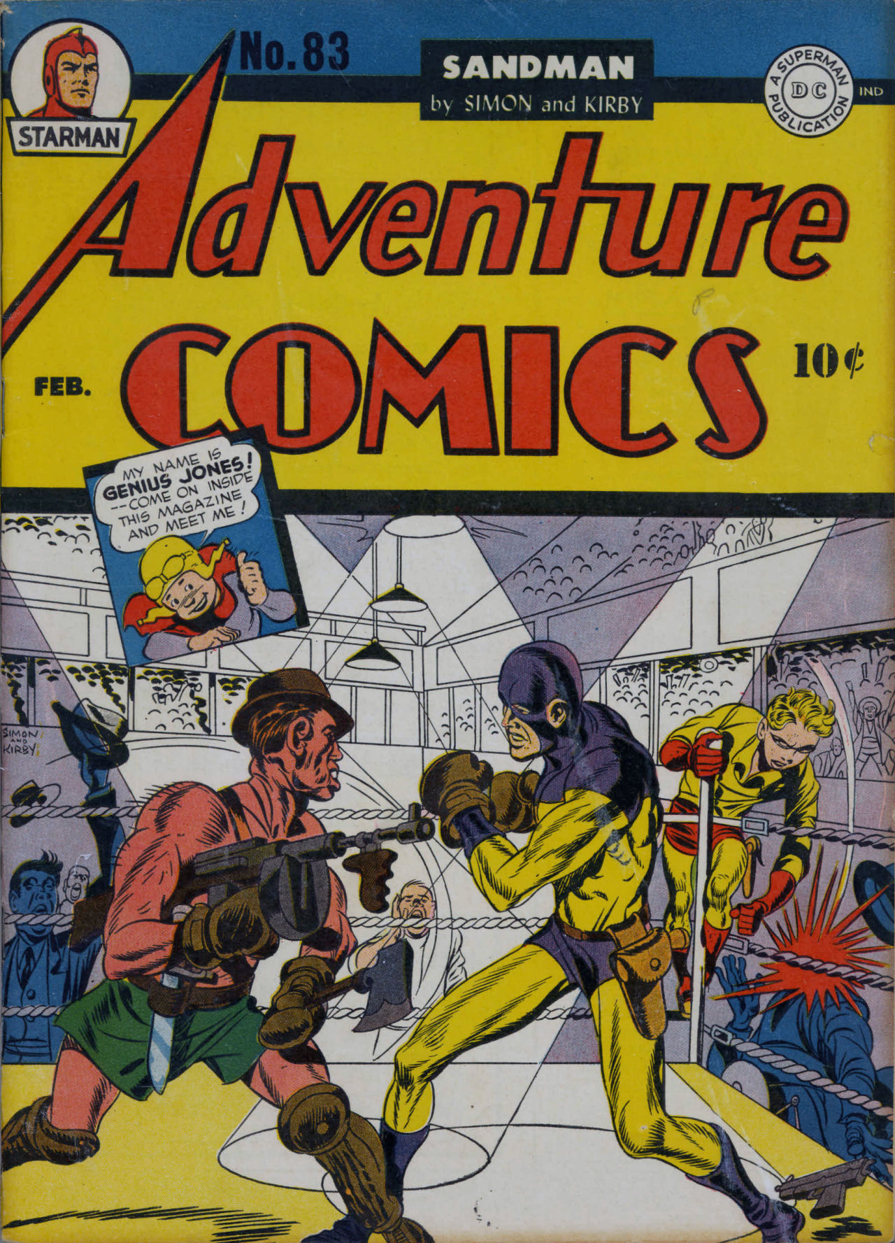 Read online Adventure Comics (1938) comic -  Issue #83 - 2