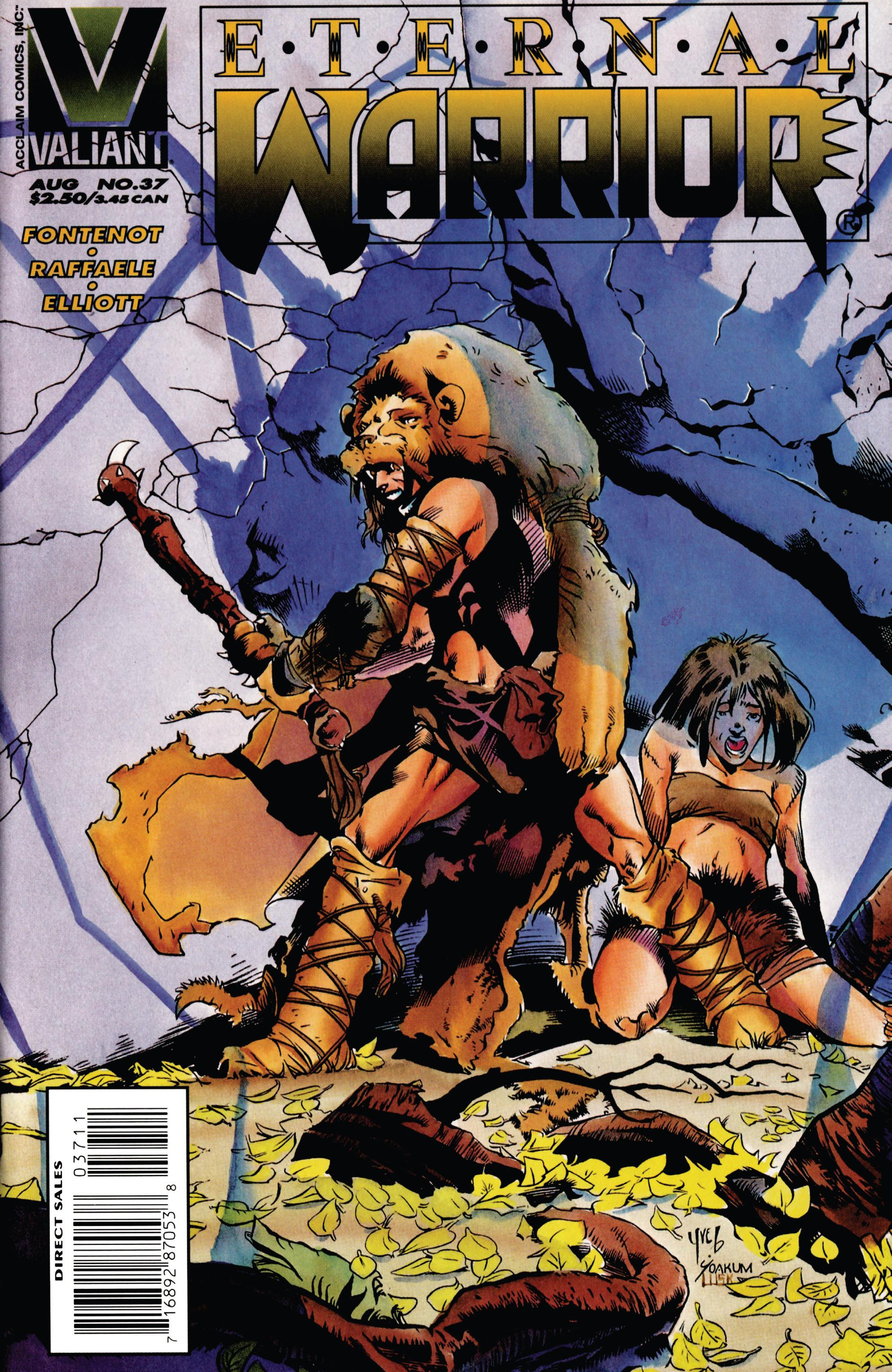 Read online Eternal Warrior (1992) comic -  Issue #37 - 1