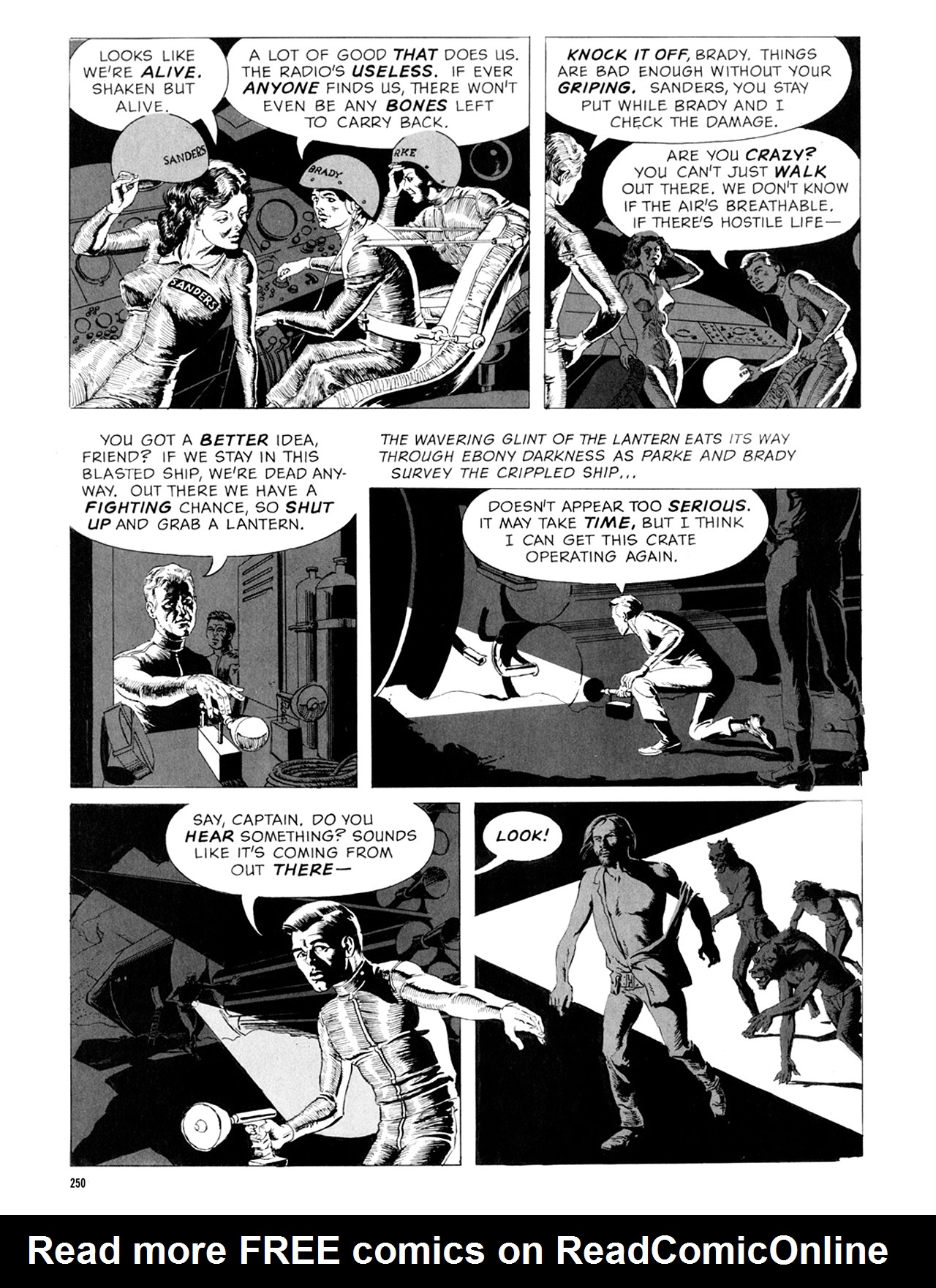 Read online Eerie Archives comic -  Issue # TPB 9 - 251