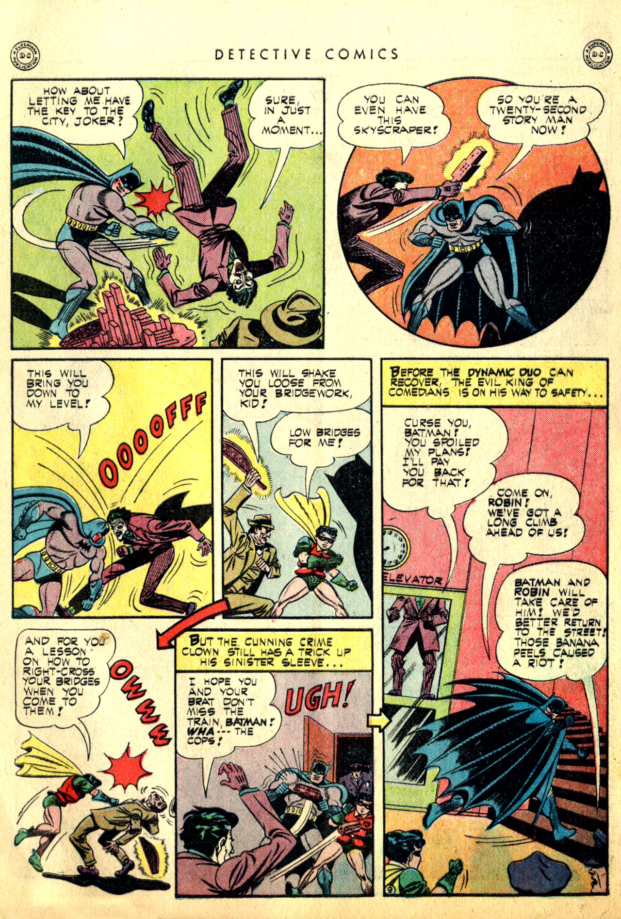 Read online Detective Comics (1937) comic -  Issue #91 - 11