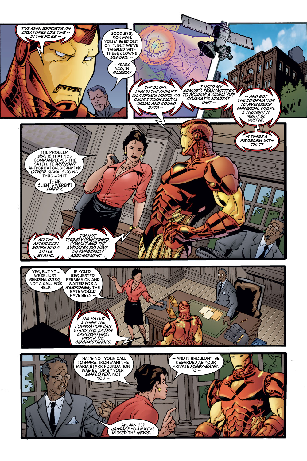 Read online Avengers (1998) comic -  Issue #56 - 8