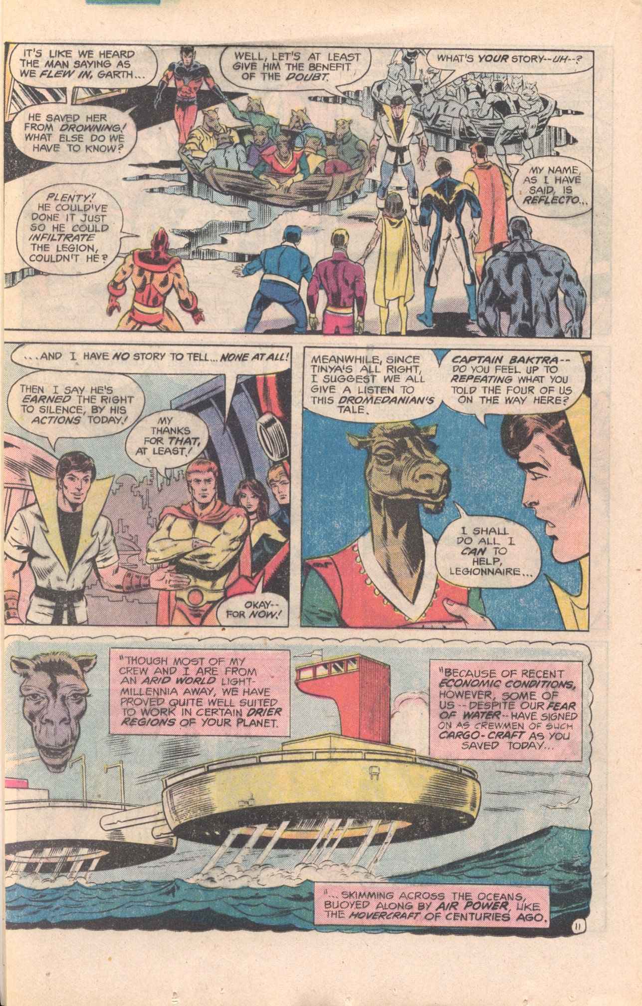 Legion of Super-Heroes (1980) 277 Page 11