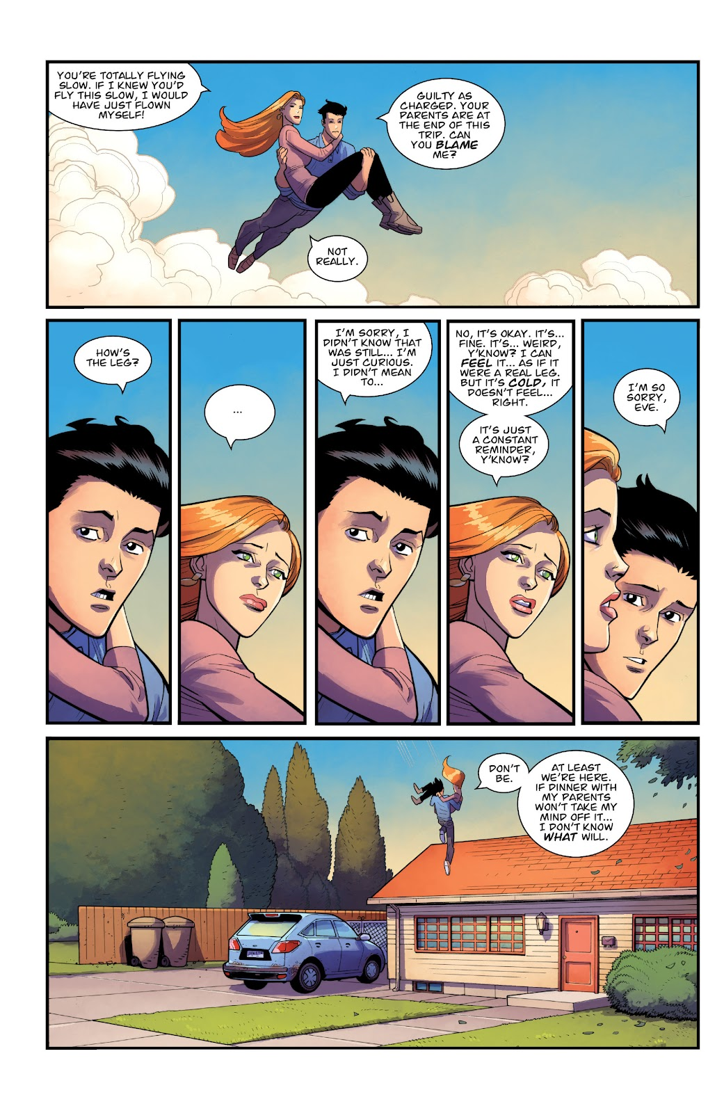 Invincible (2003) issue TPB 21 - Modern Family - Page 30