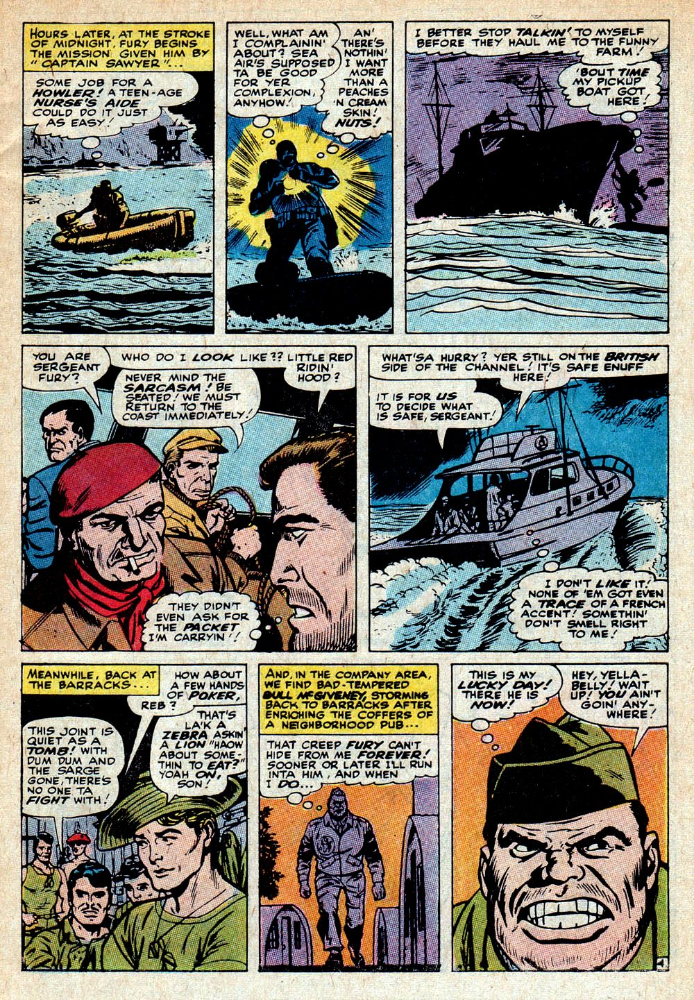 Read online Sgt. Fury comic -  Issue #85 - 7