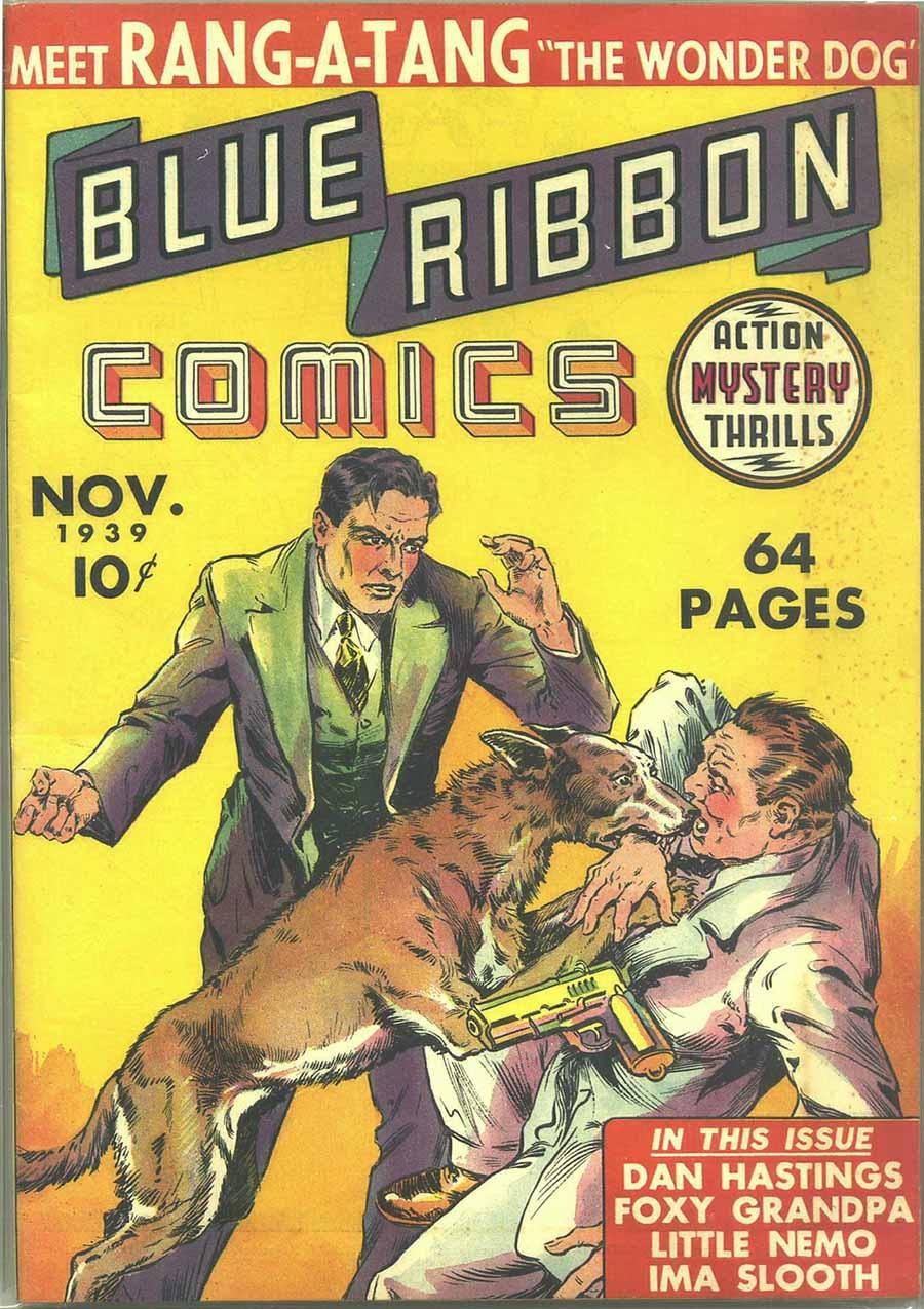 Blue Ribbon Comics (1939) issue 1 - Page 1