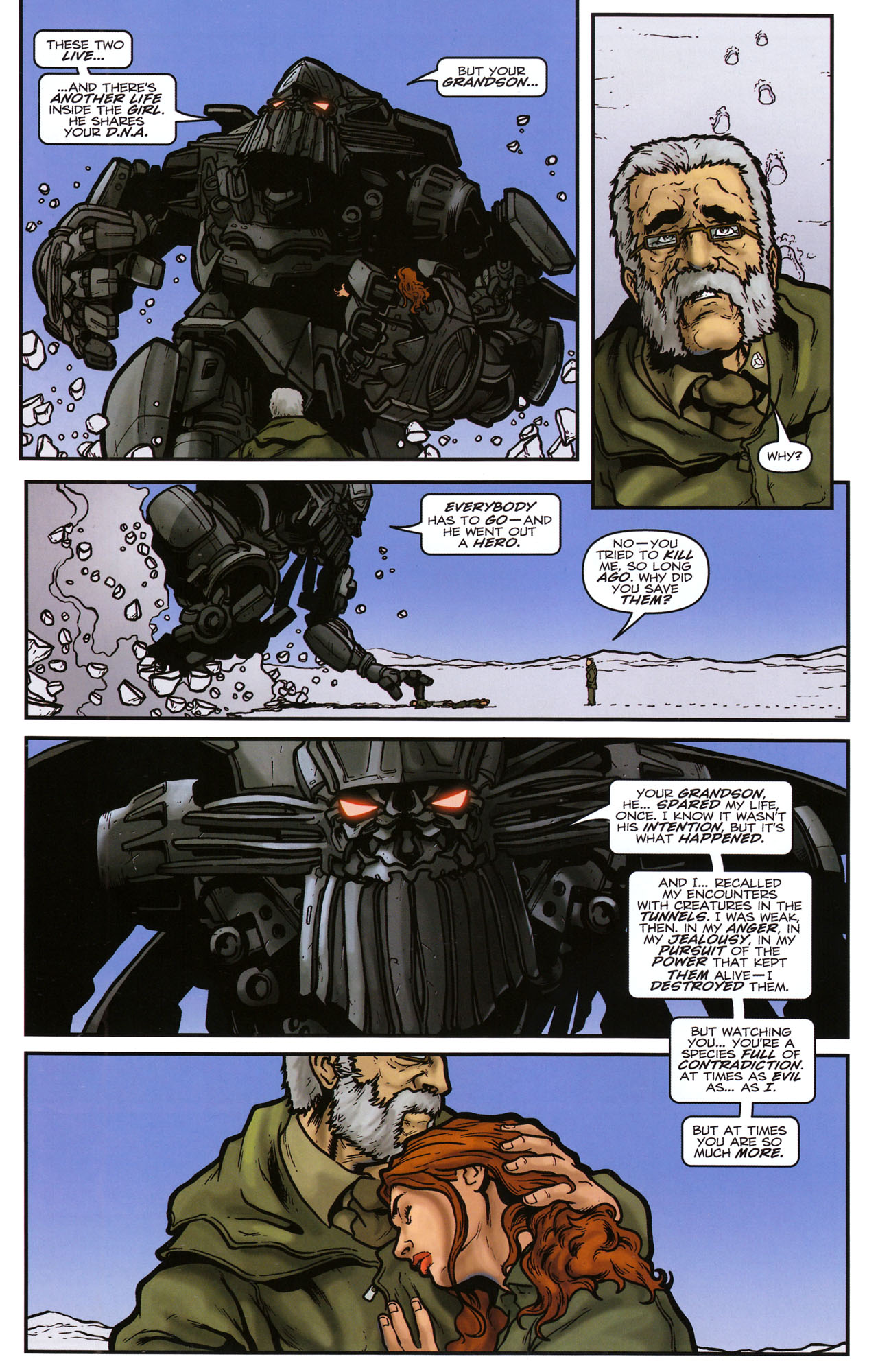 Read online Transformers: Sector 7 comic -  Issue #5 - 21