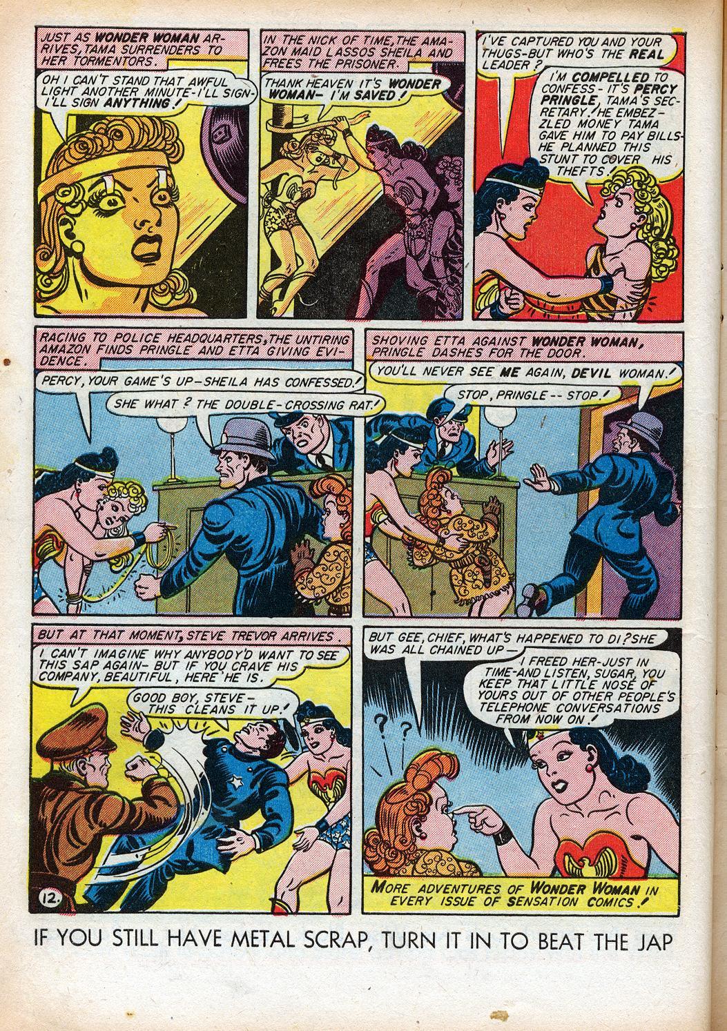 Read online Sensation (Mystery) Comics comic -  Issue #33 - 14