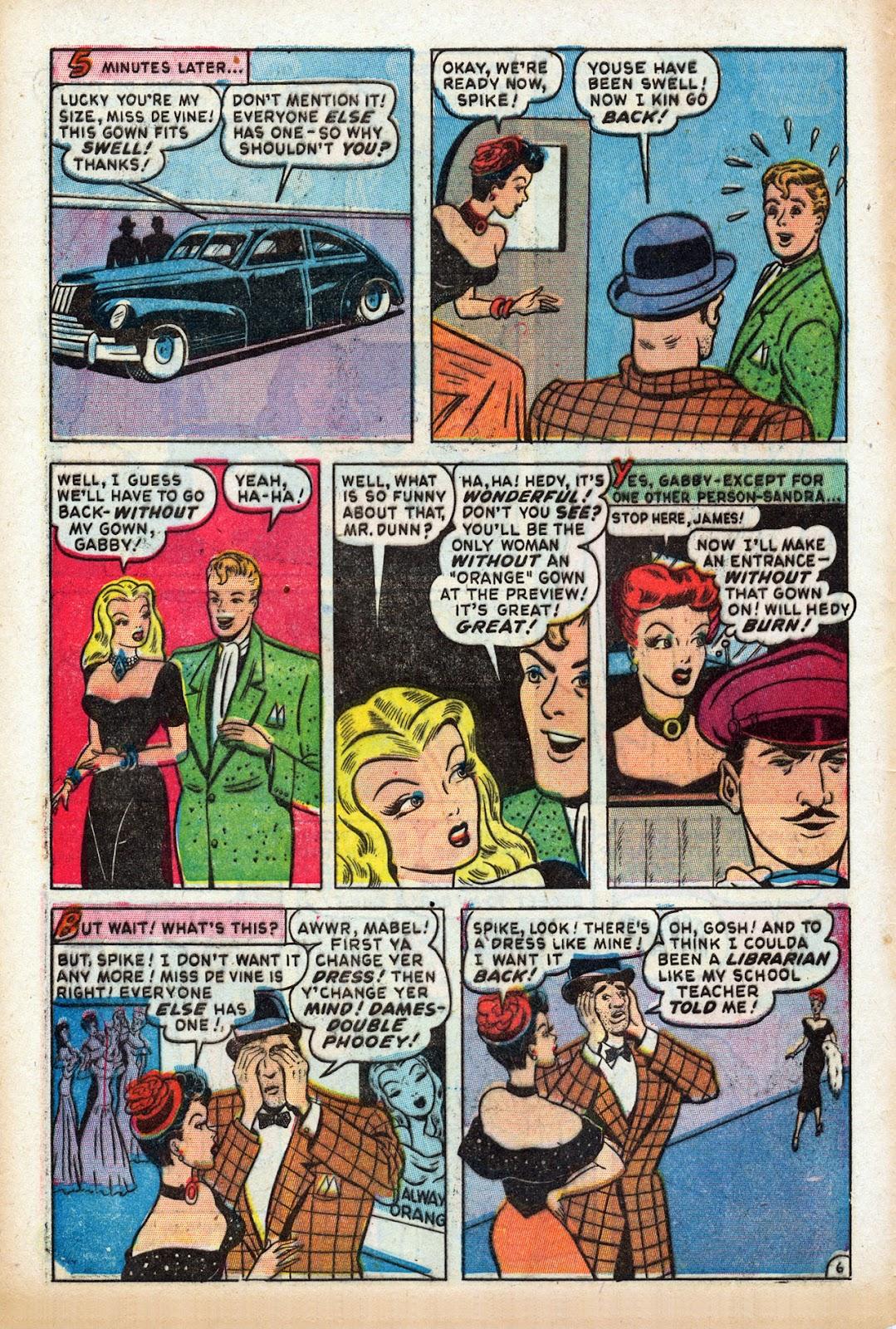 Read online Comedy Comics (1948) comic -  Issue #3 - 8