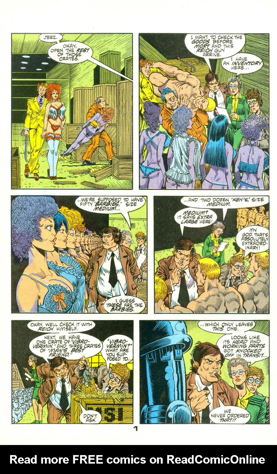 American Flagg! issue 22 - Page 23