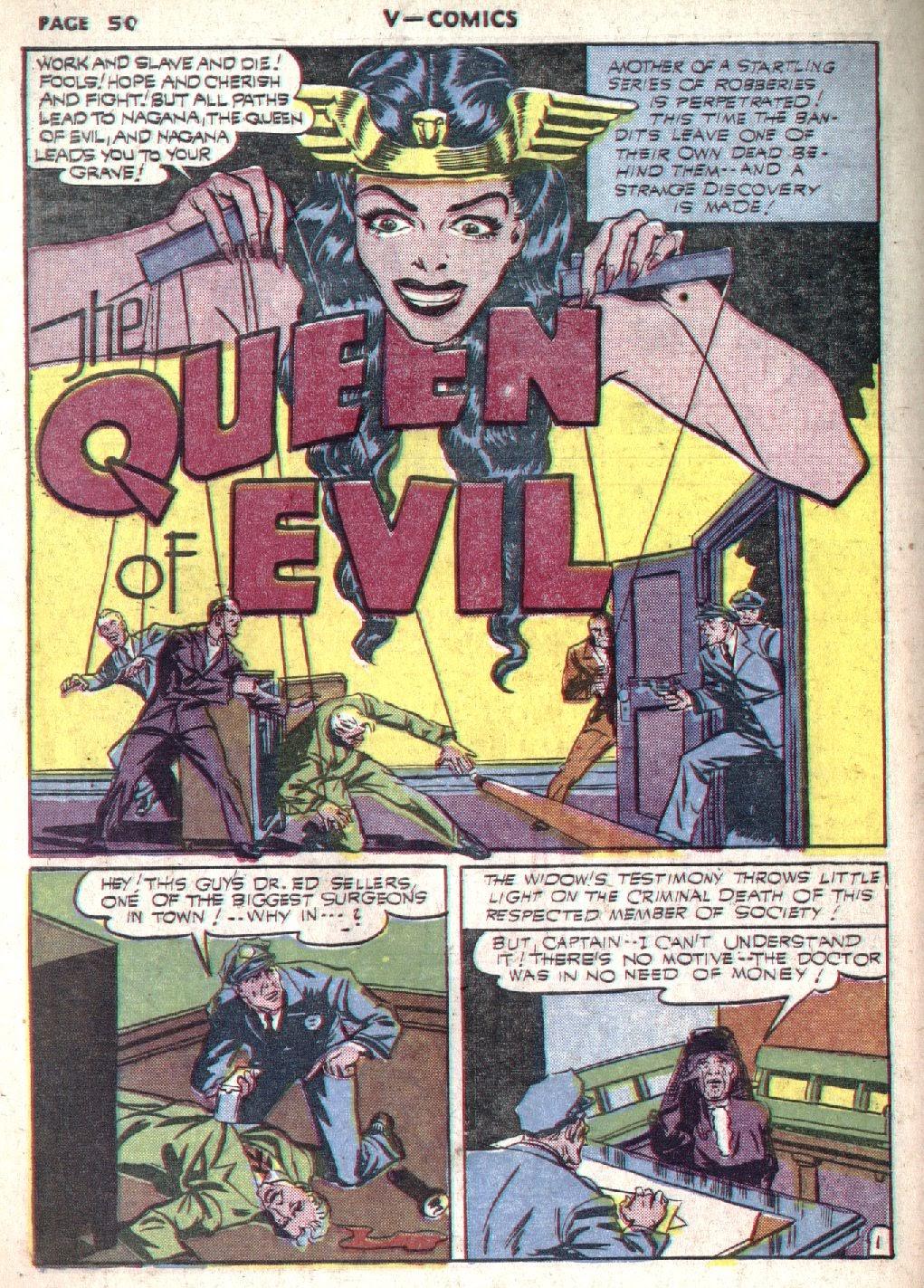 Read online V...- Comics comic -  Issue #1 - 51