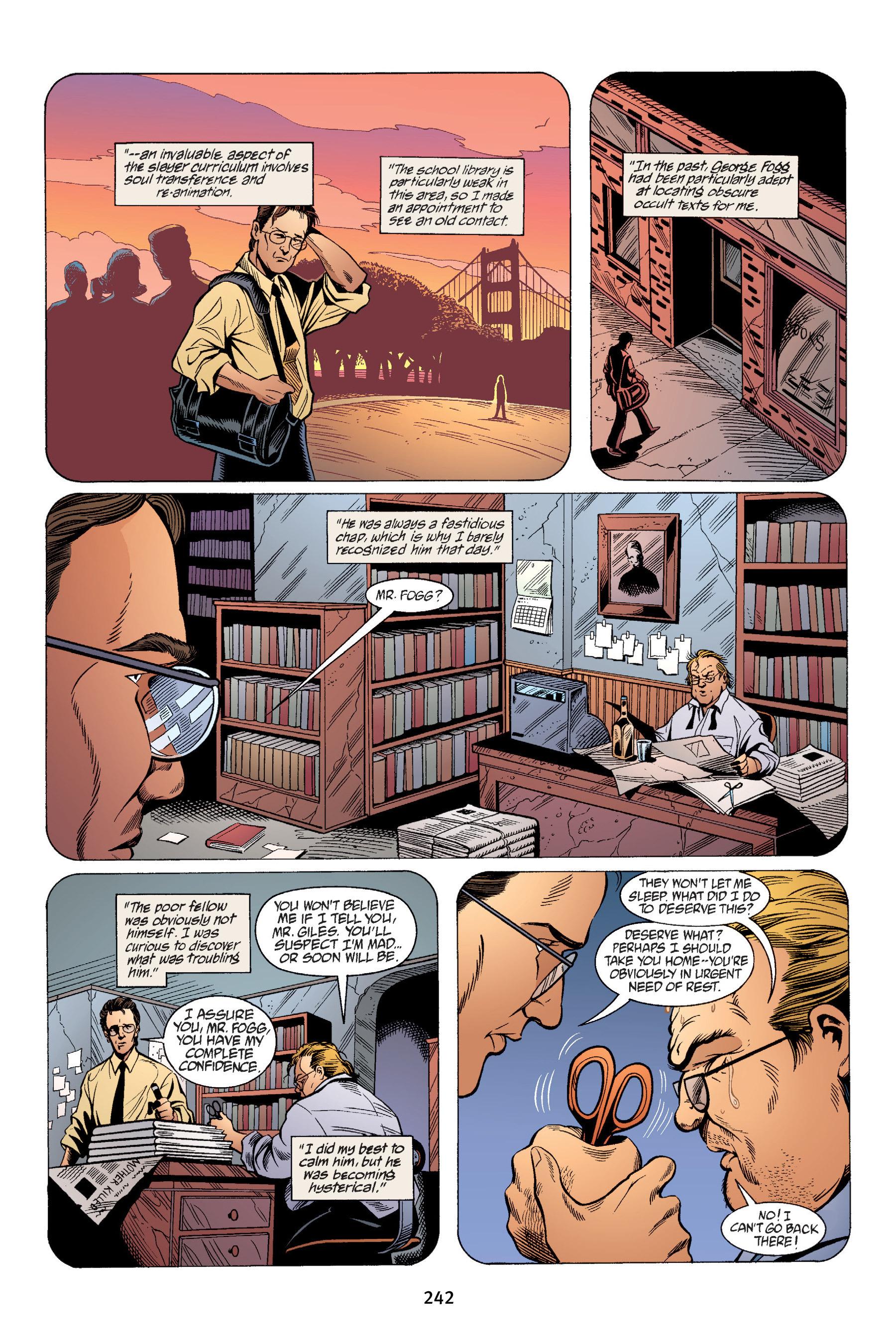 Read online Buffy the Vampire Slayer: Omnibus comic -  Issue # TPB 4 - 240