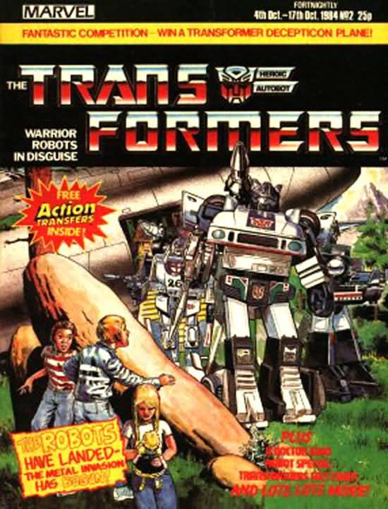 The Transformers (UK) 2 Page 1