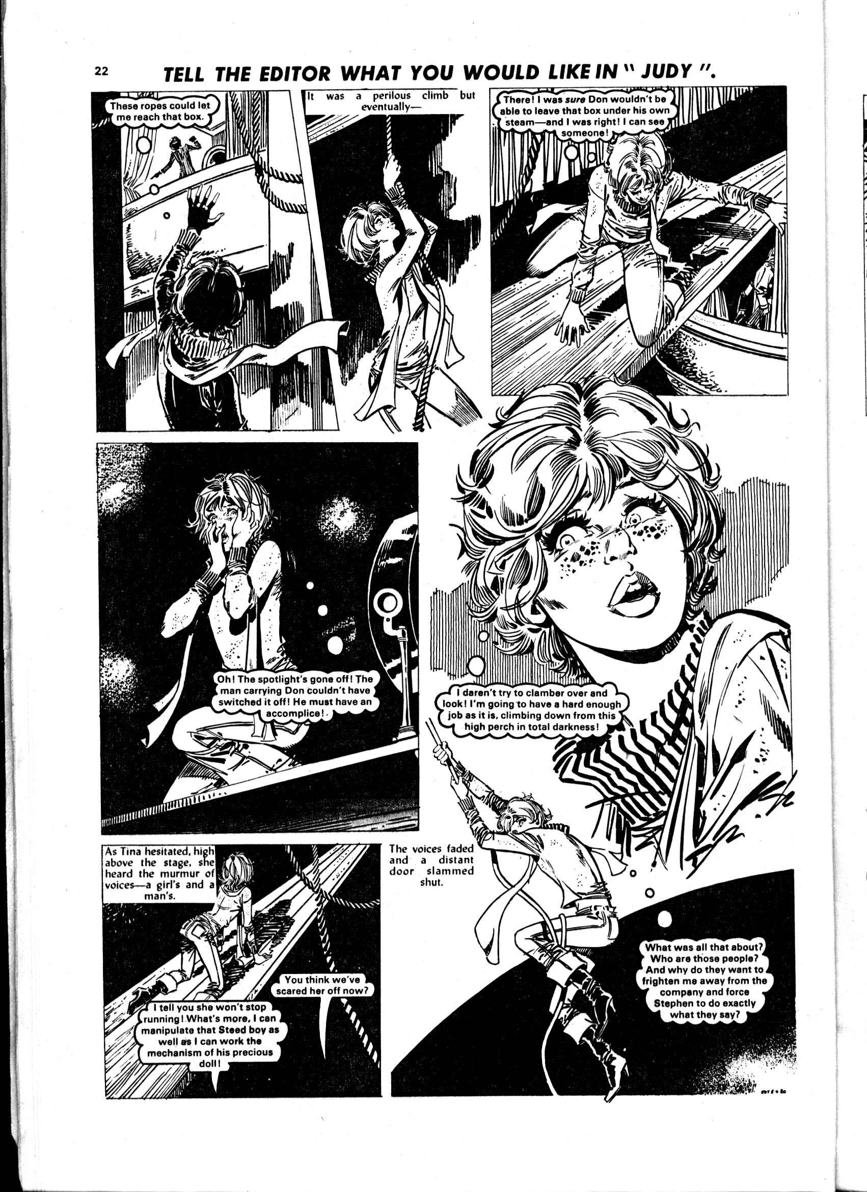 Read online Judy comic -  Issue #56 - 22