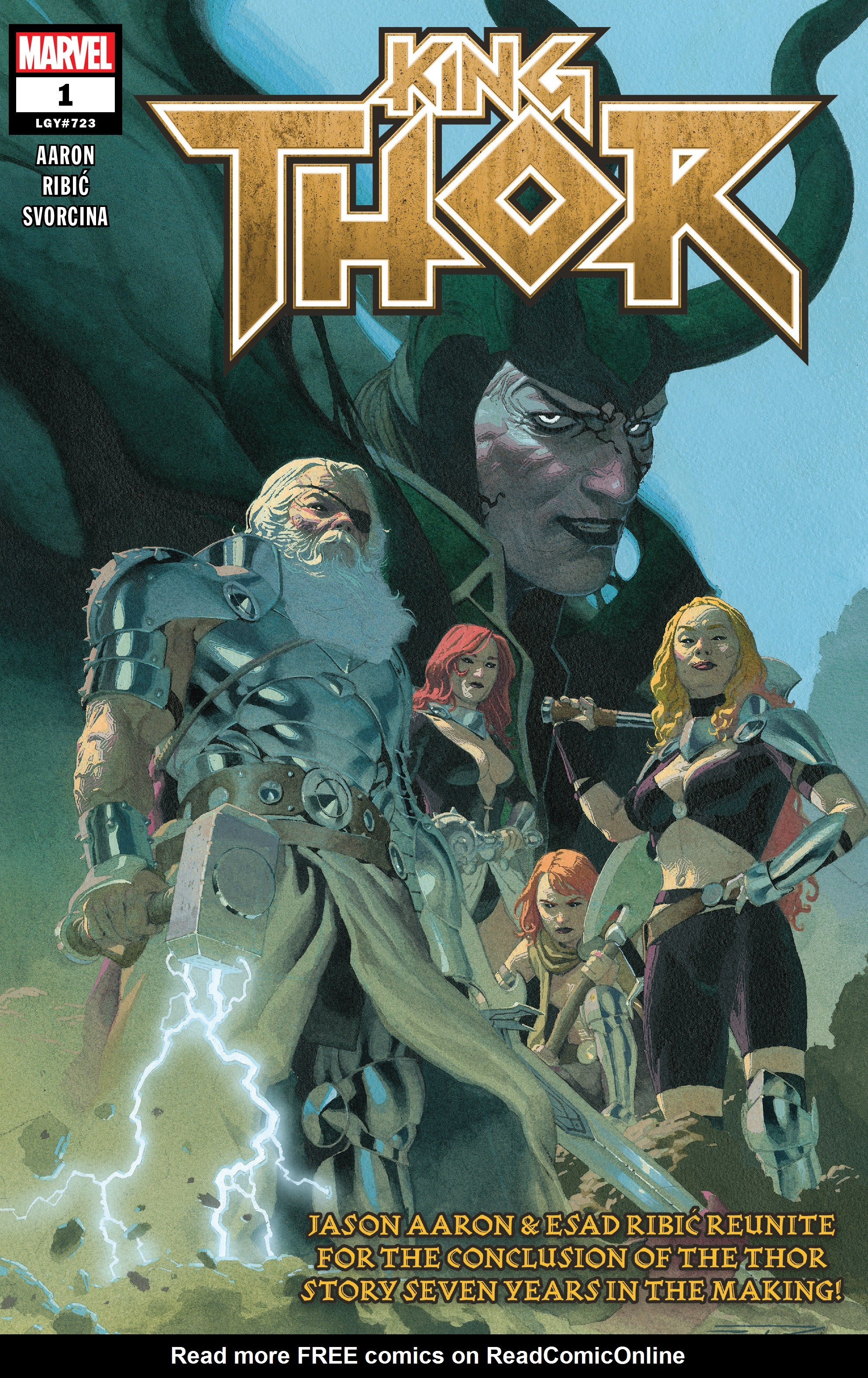 Read online King Thor comic -  Issue #1 - 1