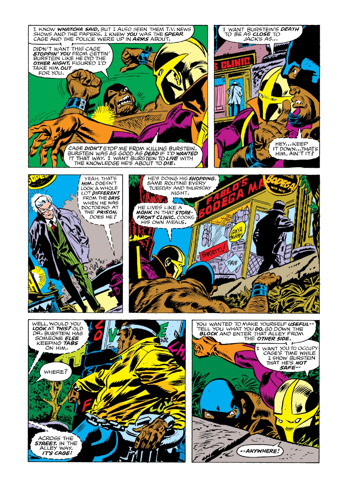 Read online Marvel Masterworks: Luke Cage, Power Man comic -  Issue # TPB 3 (Part 1) - 54