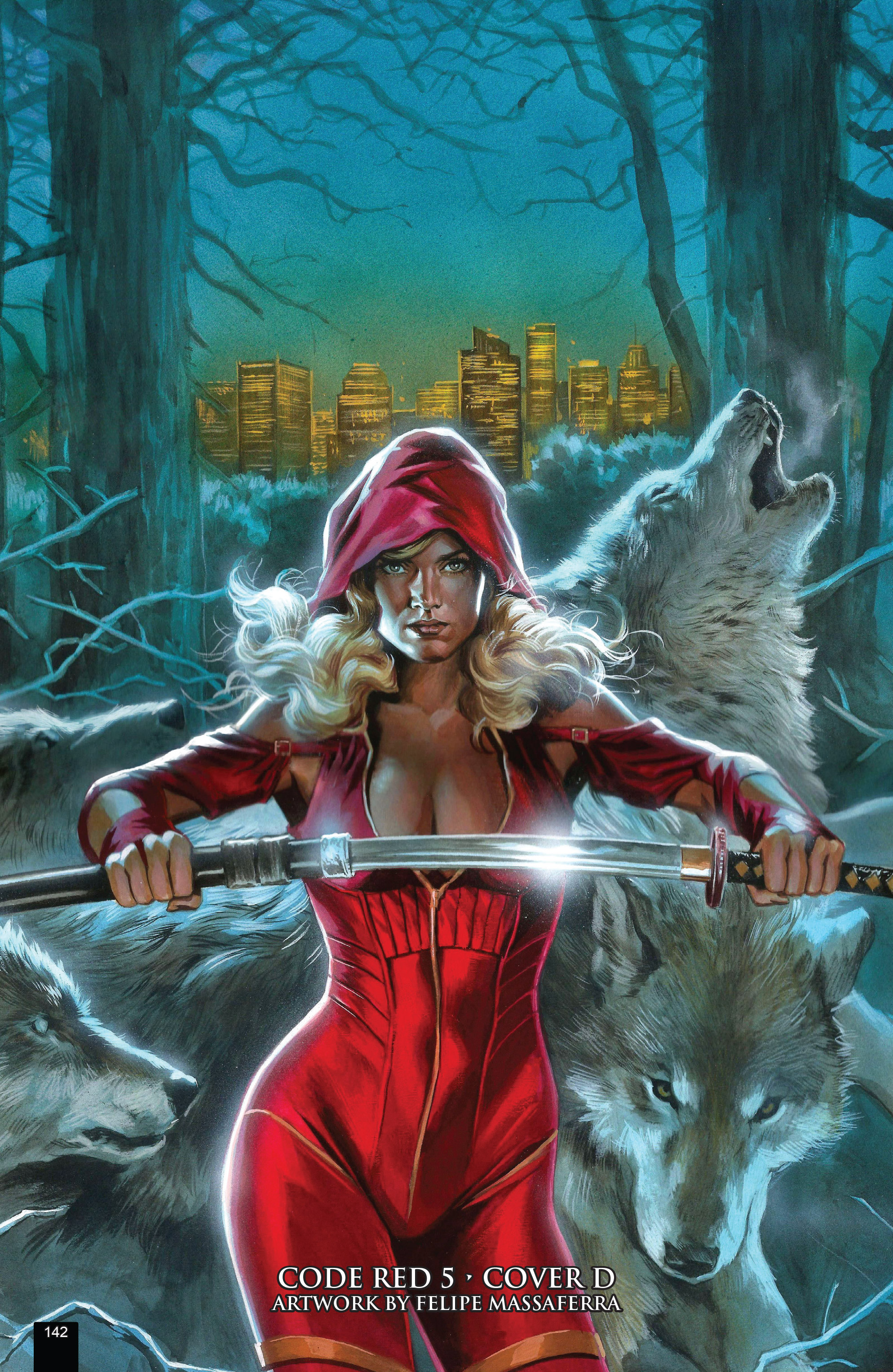 Read online Grimm Fairy Tales presents Code Red comic -  Issue # TPB - 142
