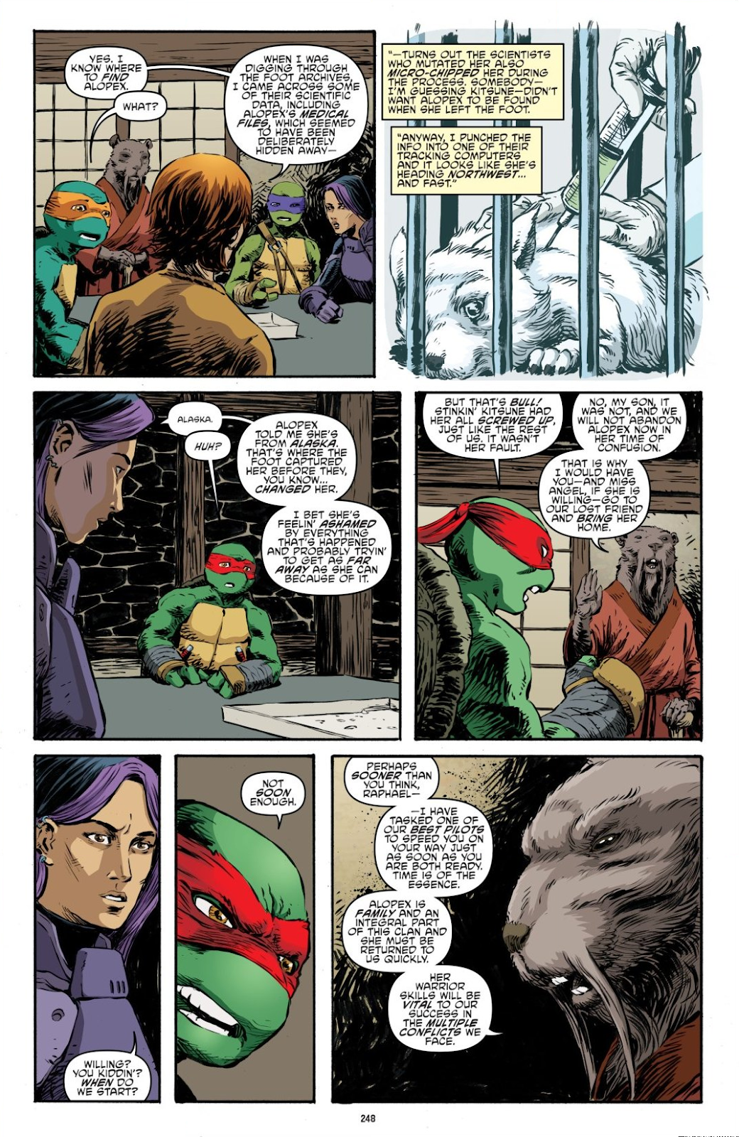 Read online Teenage Mutant Ninja Turtles: The IDW Collection comic -  Issue # TPB 7 (Part 3) - 40