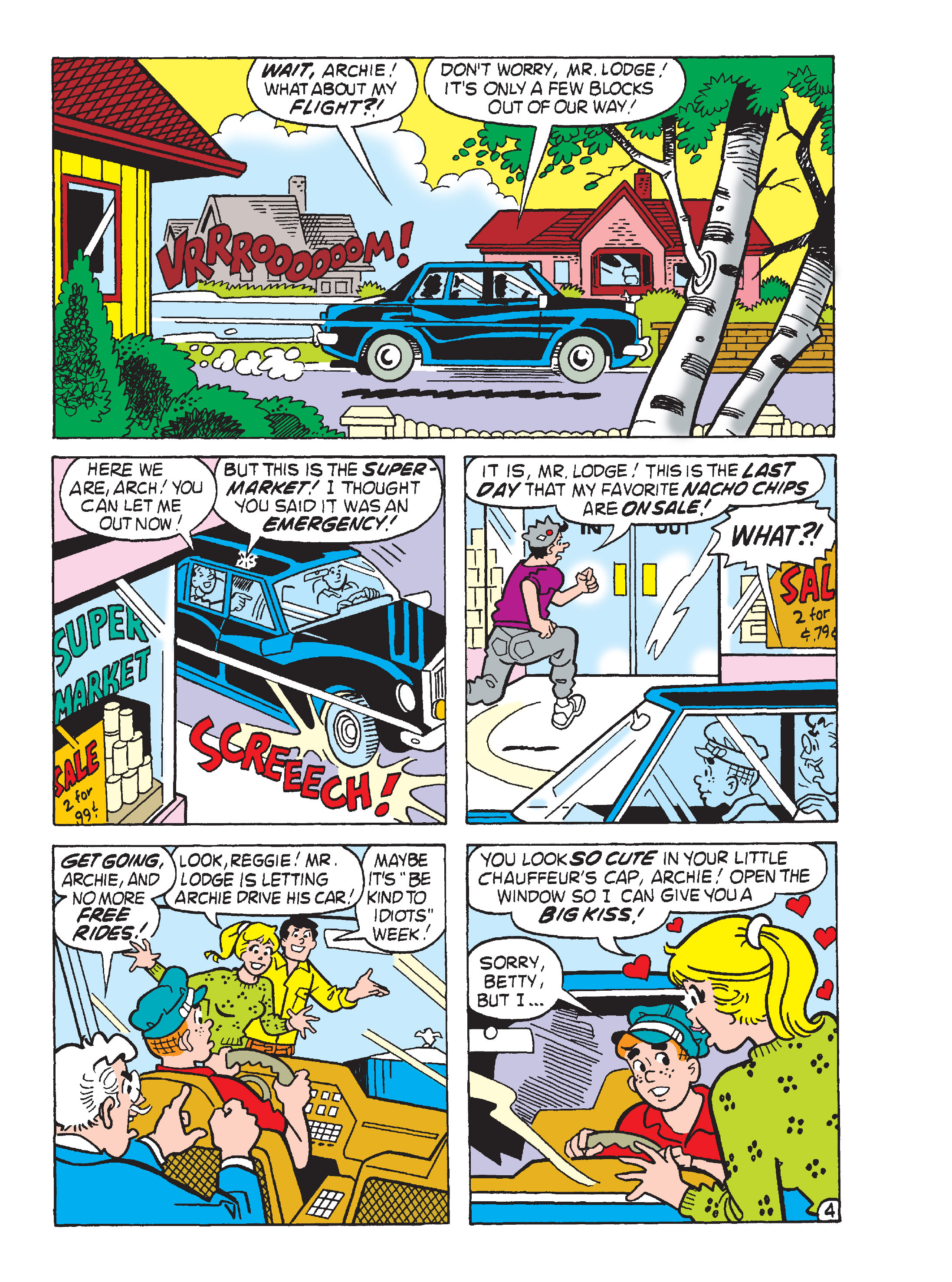 Read online Archie's Funhouse Double Digest comic -  Issue #15 - 200