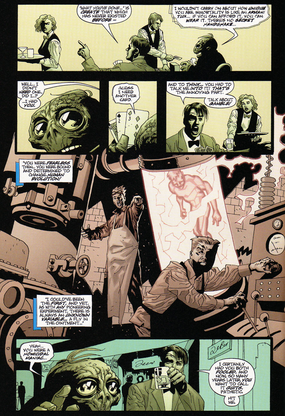 Wildcats (1999) Issue #9 #10 - English 6