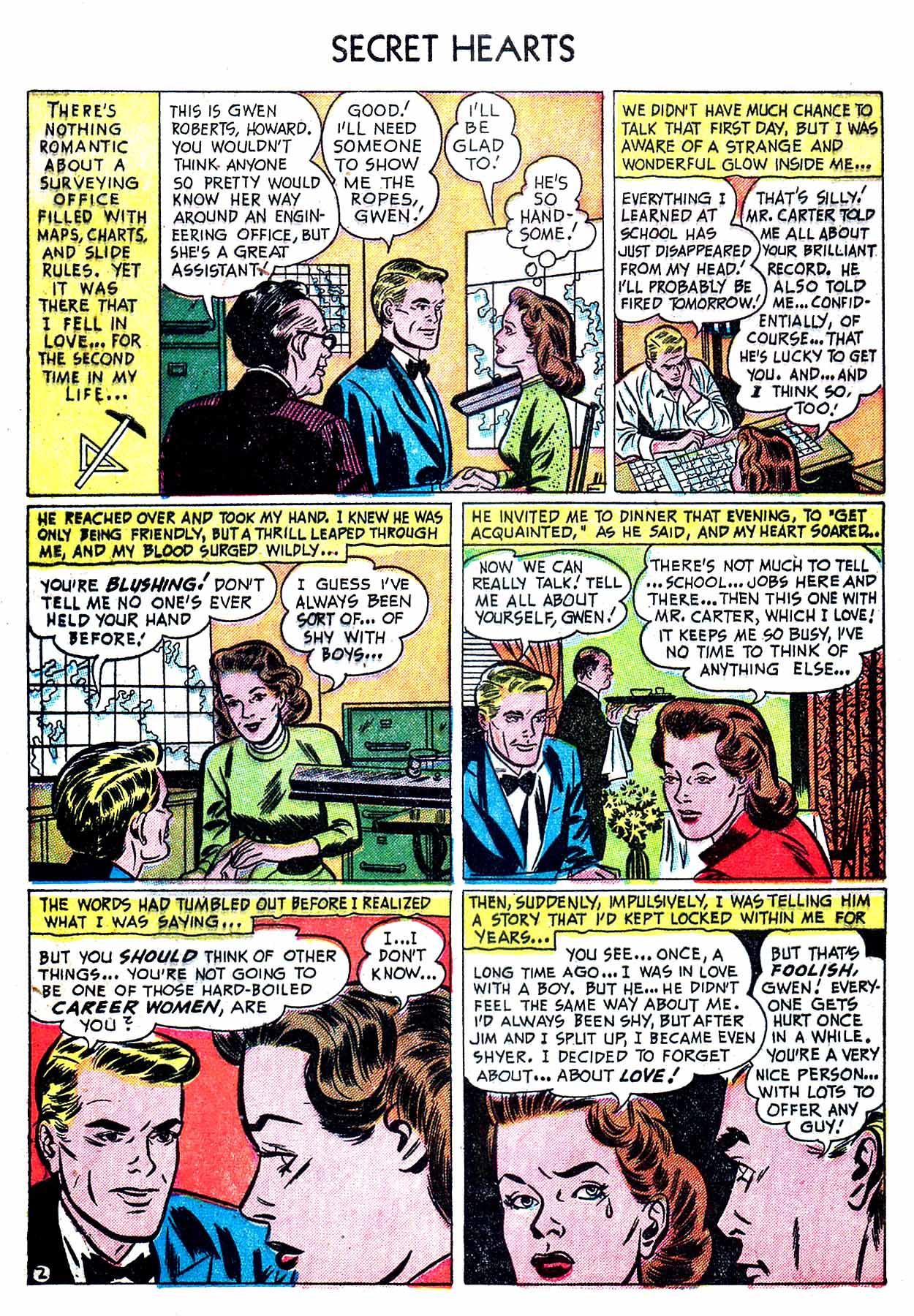 Read online Secret Hearts comic -  Issue #8 - 28