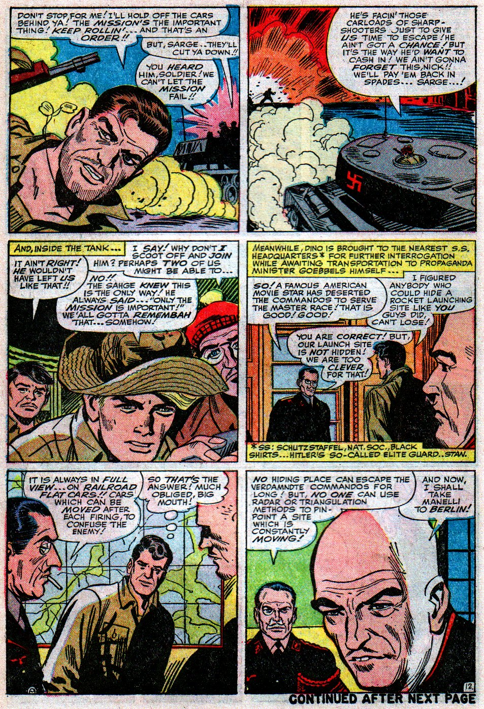 Read online Sgt. Fury comic -  Issue #12 - 18