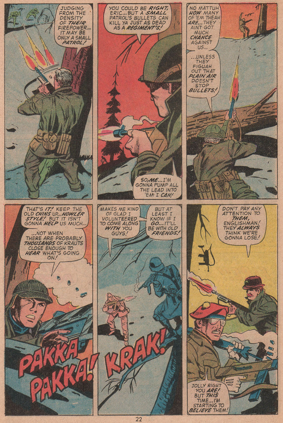 Read online Sgt. Fury comic -  Issue #104 - 24