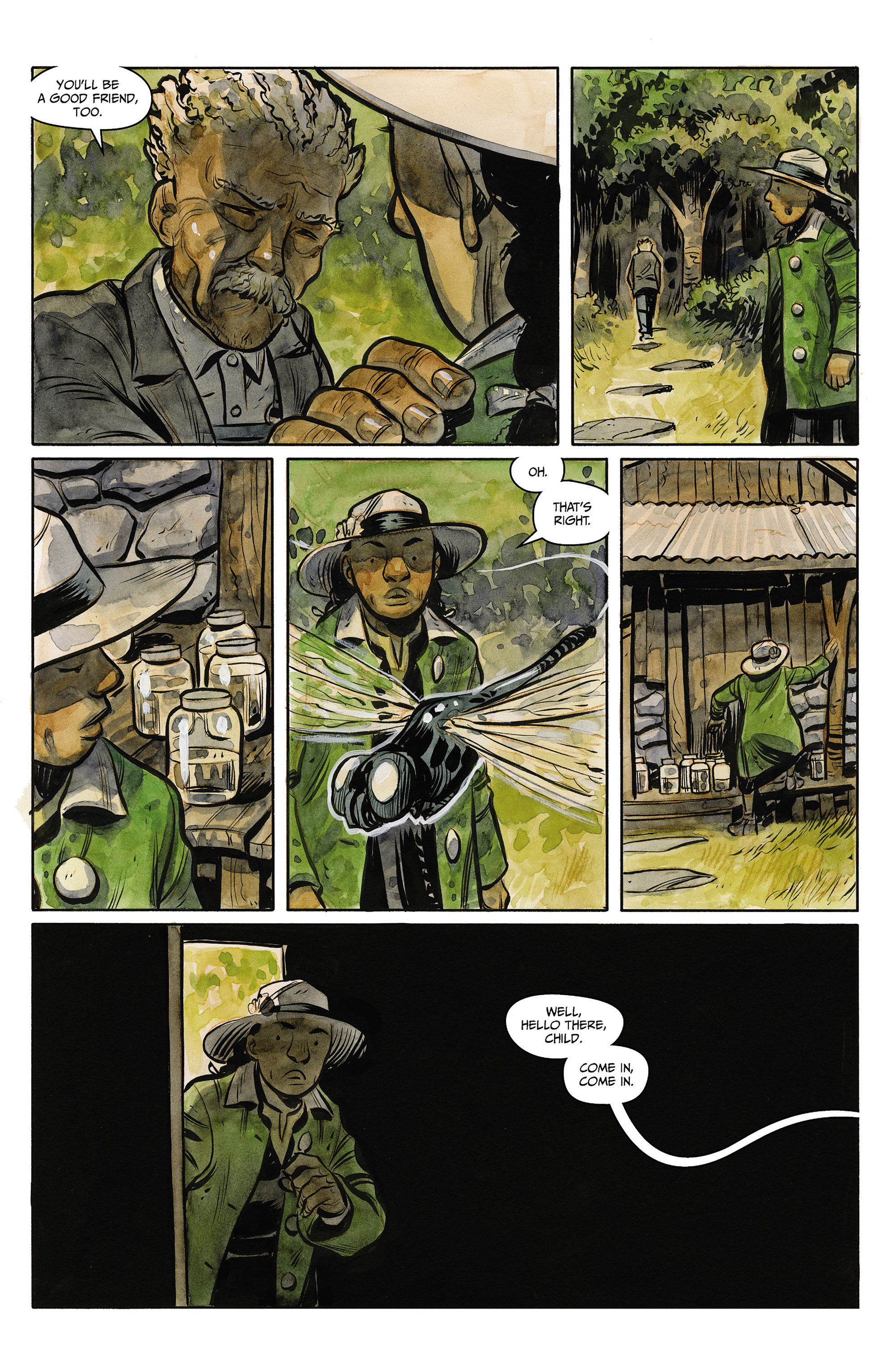 Read online Harrow County comic -  Issue #23 - 18