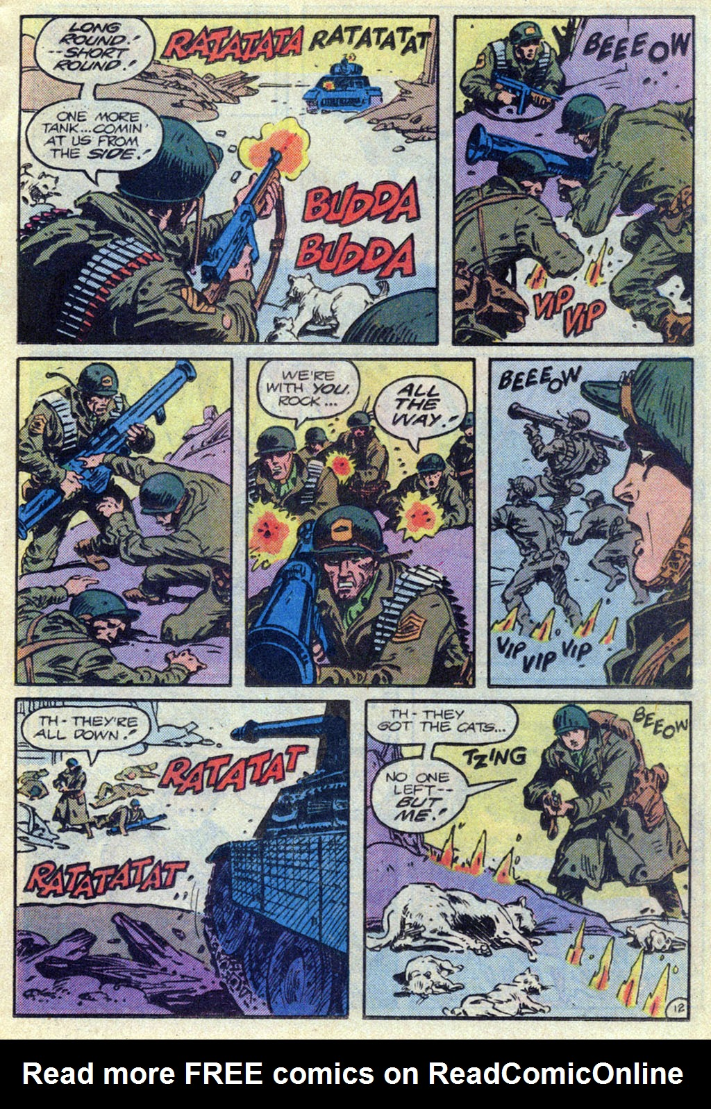 Read online Sgt. Rock comic -  Issue #369 - 12
