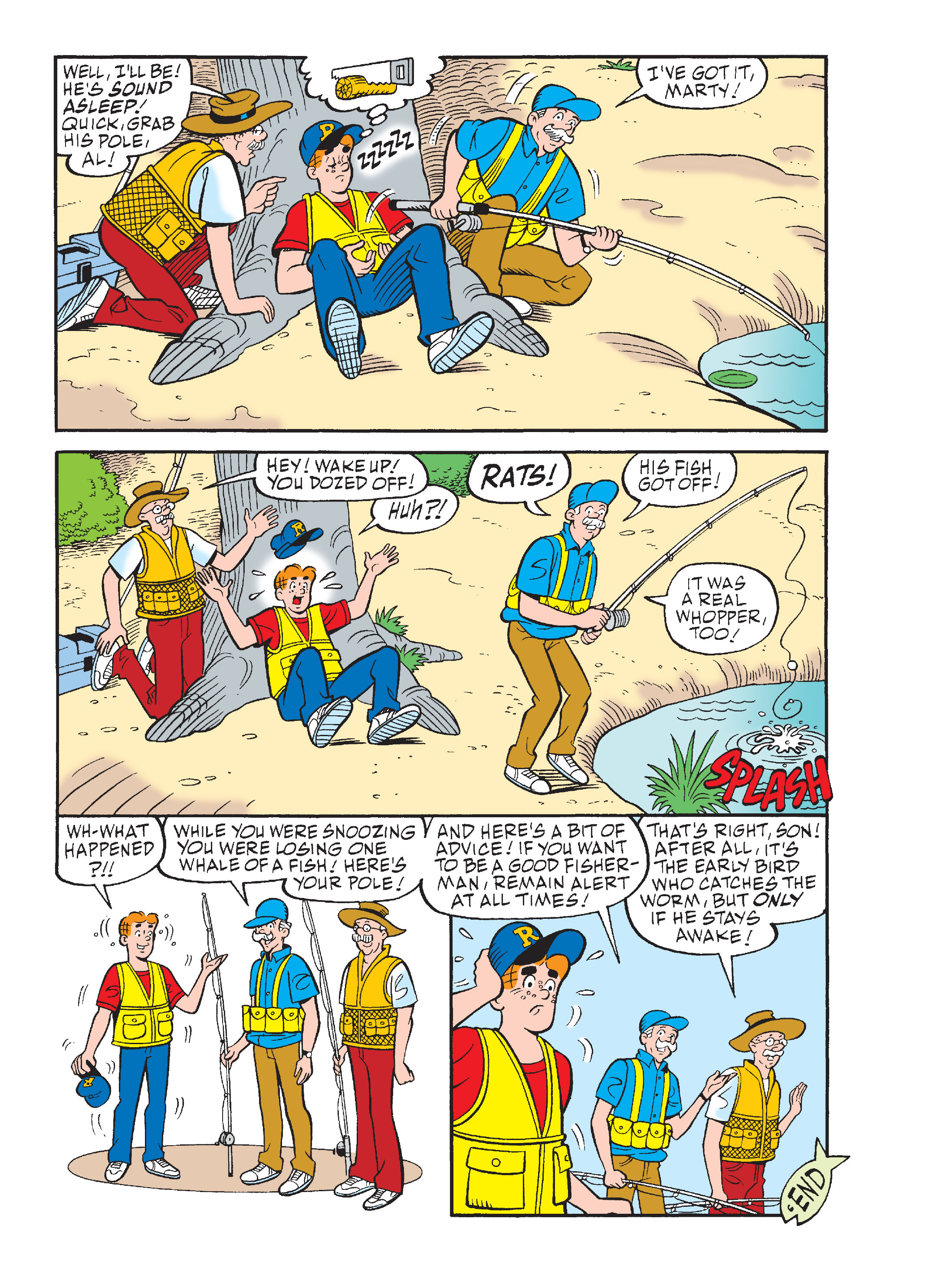 Read online Archie's Funhouse Double Digest comic -  Issue #15 - 177