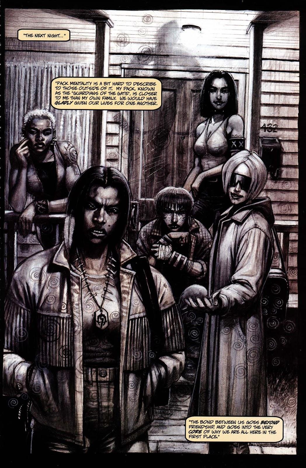 Read online Werewolf the Apocalypse comic -  Issue # Black Furies - 9