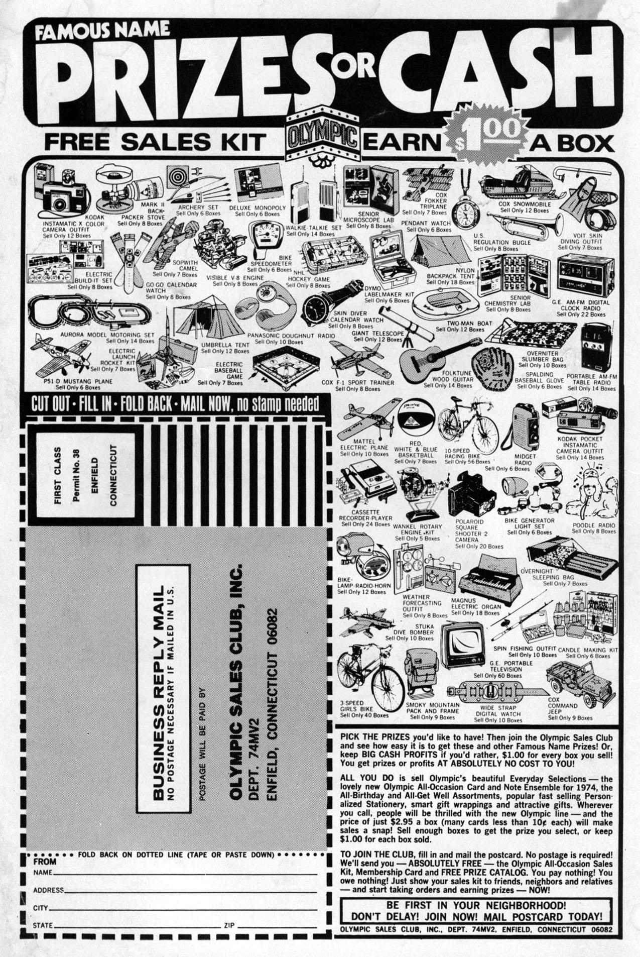 Read online Amazing Adventures (1970) comic -  Issue #24 - 2
