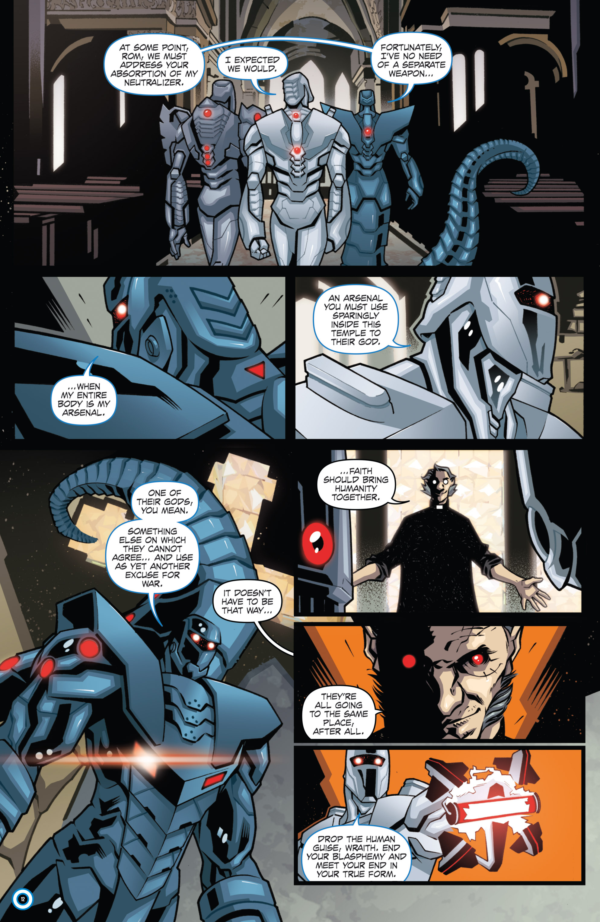 Read online ROM (2016) comic -  Issue #10 - 14