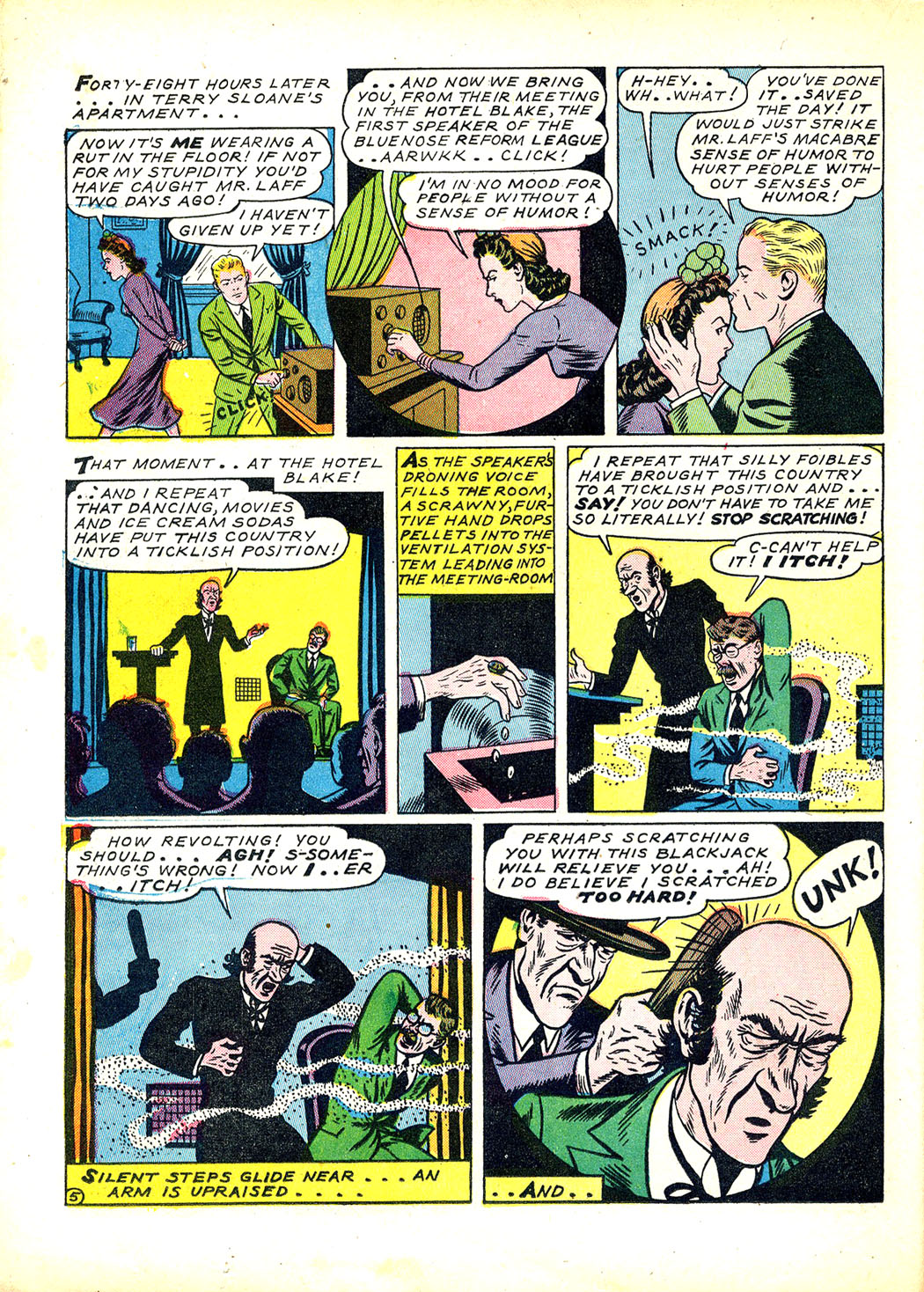 Read online Sensation (Mystery) Comics comic -  Issue #12 - 40