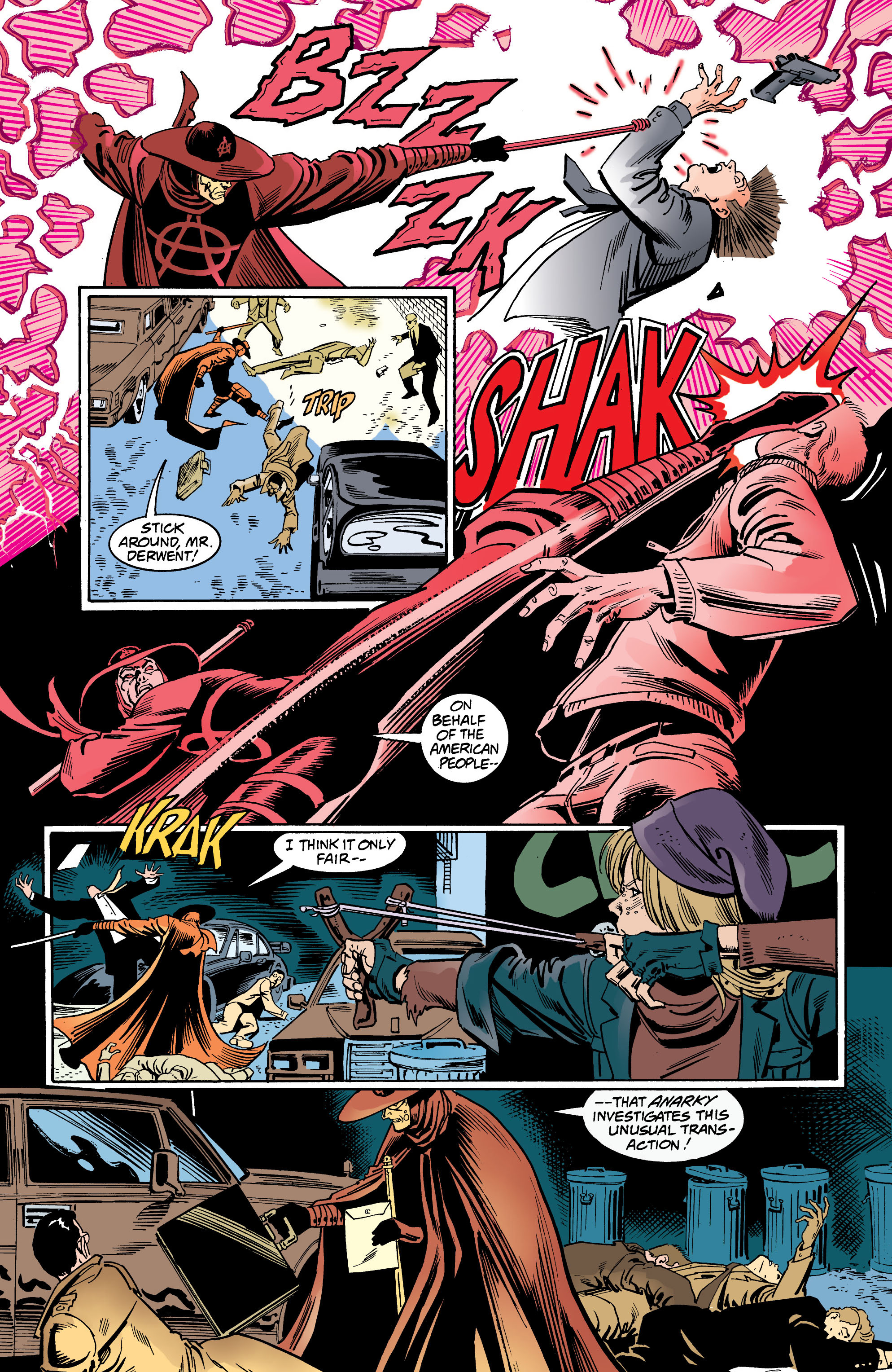 Read online Anarky (1999) comic -  Issue #4 - 9