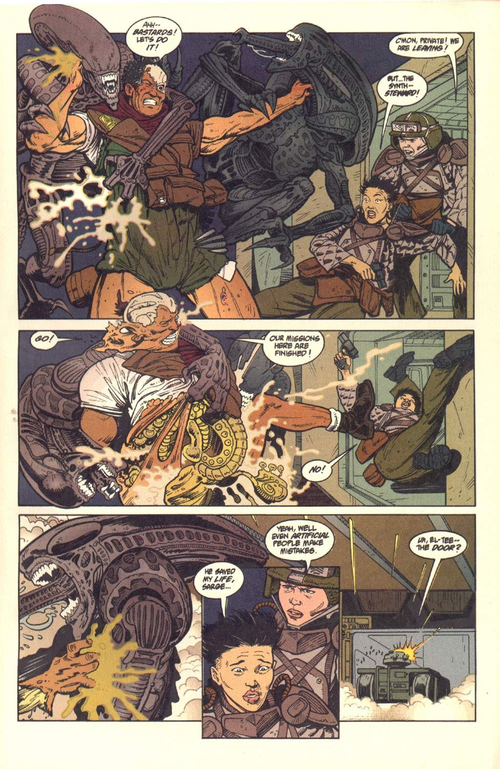 Read online Aliens: Colonial Marines comic -  Issue #7 - 22
