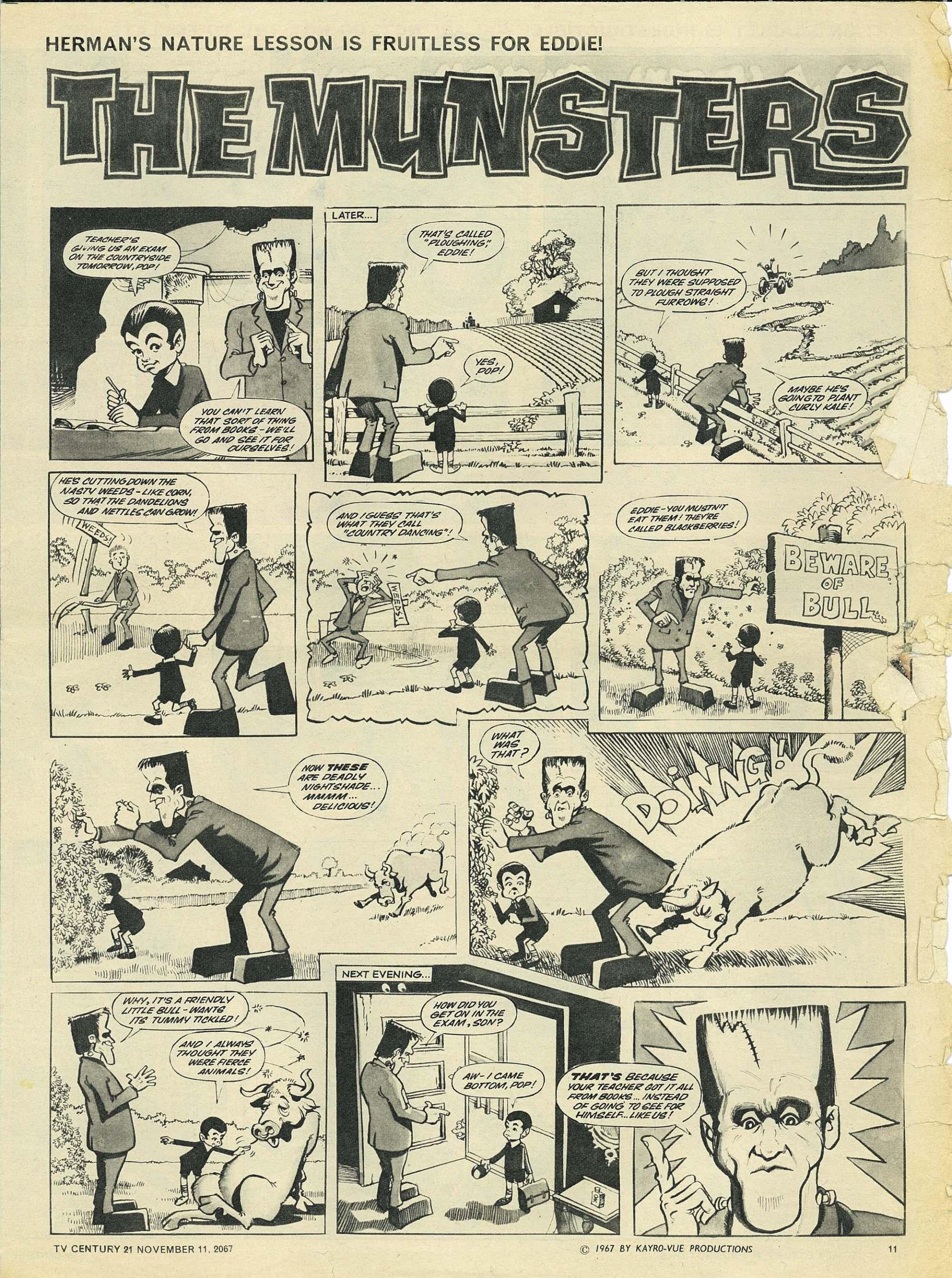 Read online TV Century 21 (TV 21) comic -  Issue #147 - 11