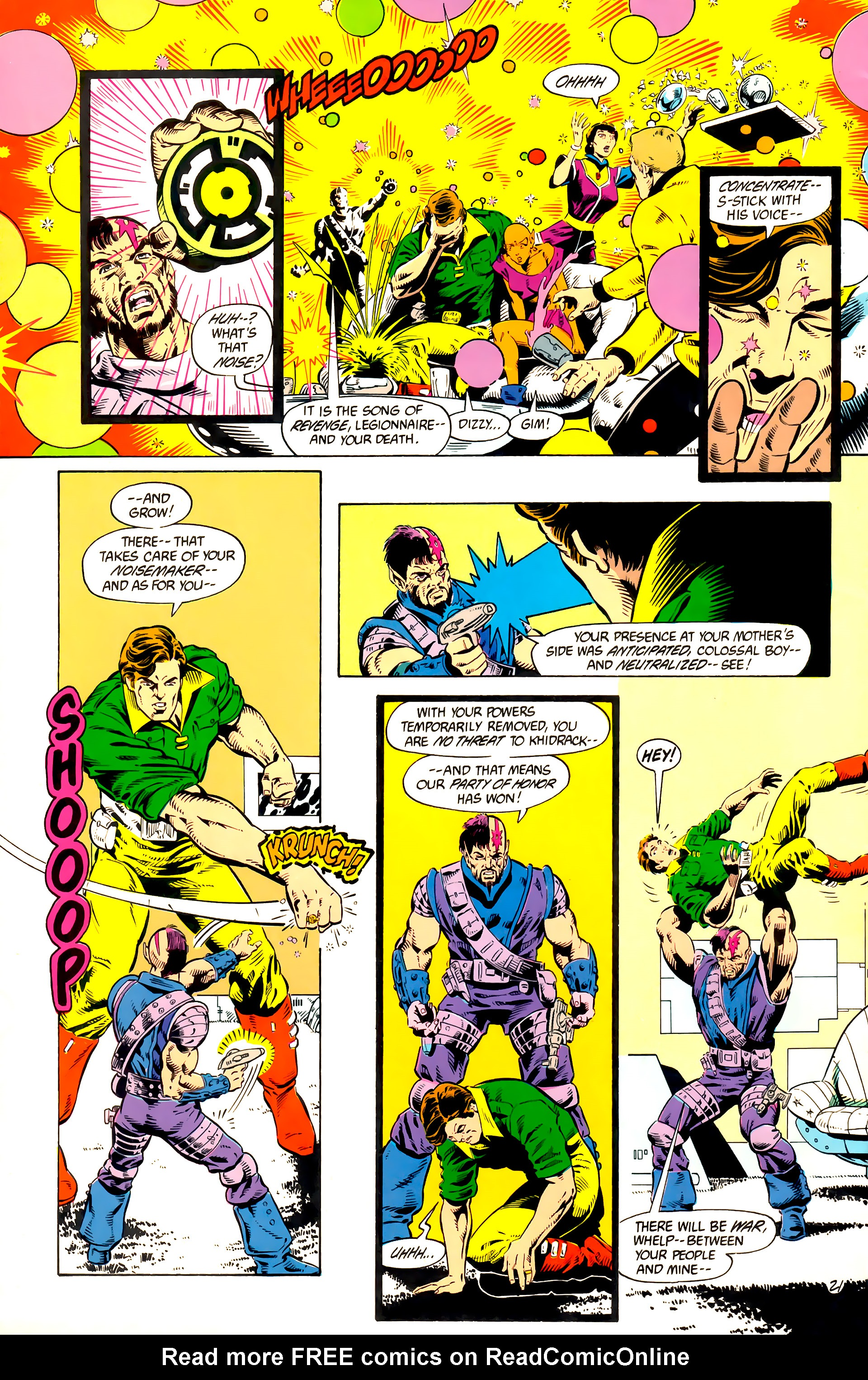 Legion of Super-Heroes (1984) 10 Page 22