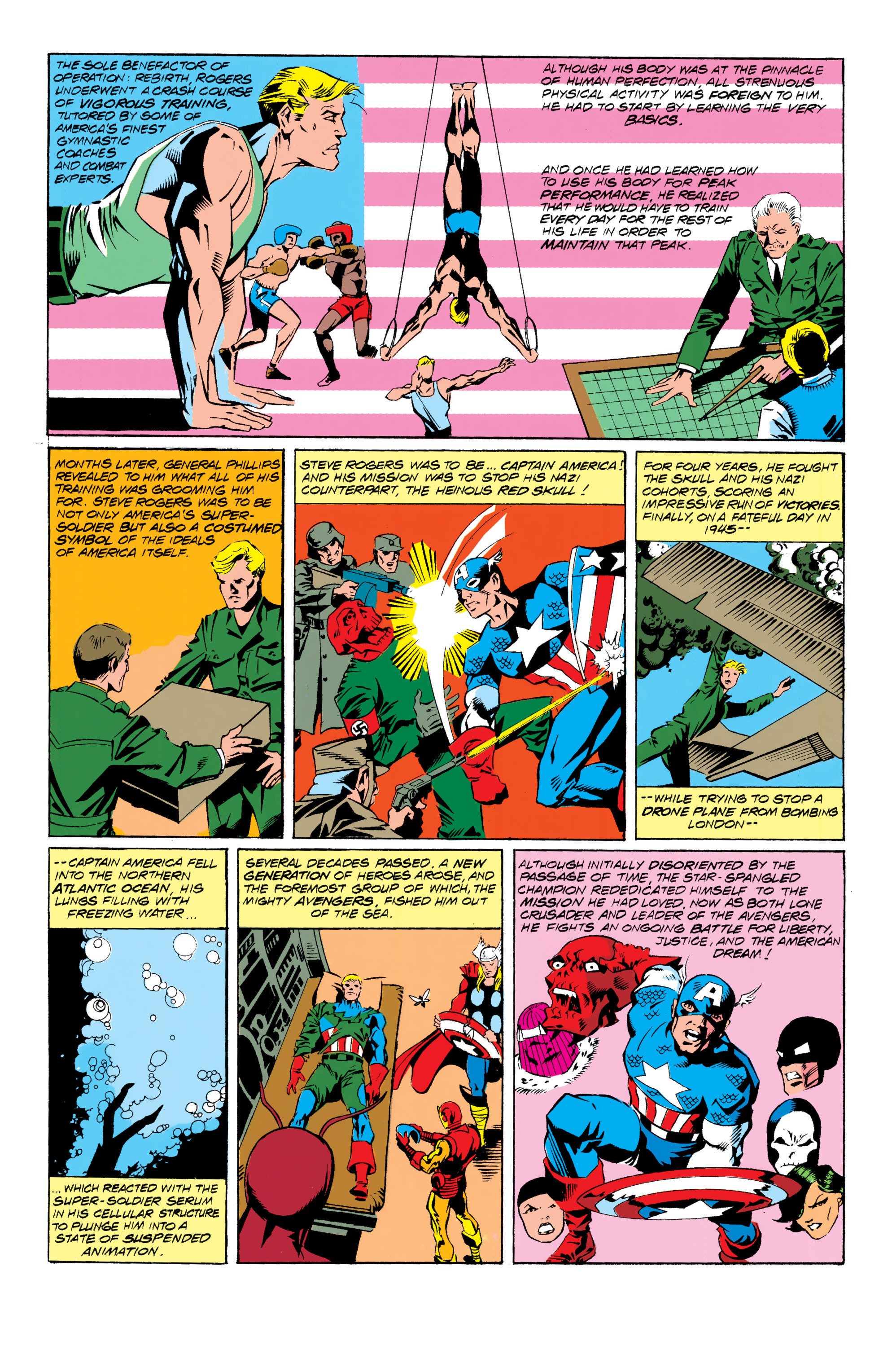 Read online Captain America (1968) comic -  Issue # _Annual 10 - 4