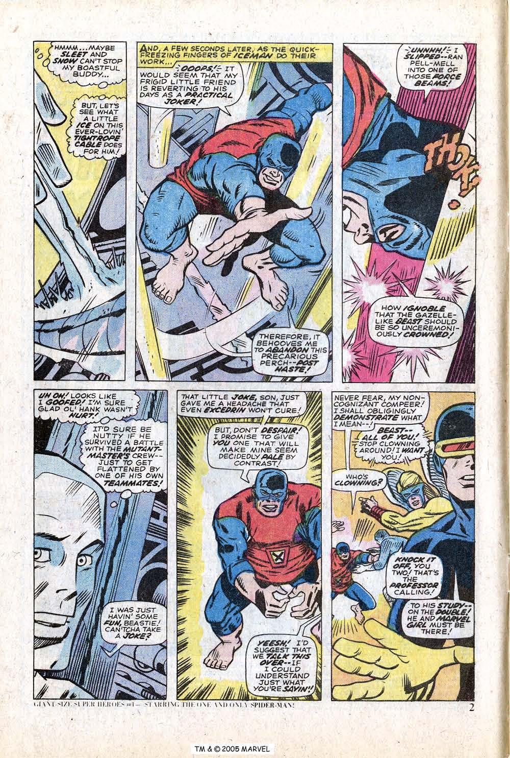 Uncanny X-Men (1963) 88 Page 3