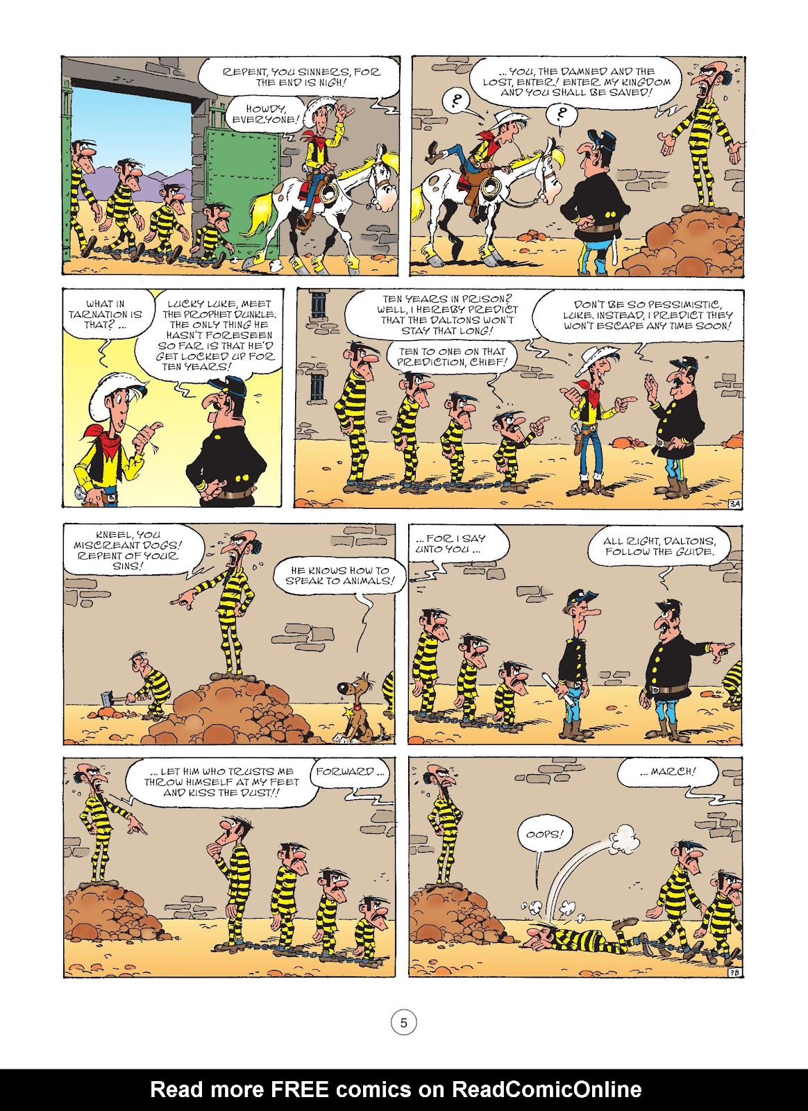 A Lucky Luke Adventure issue 73 - Page 7