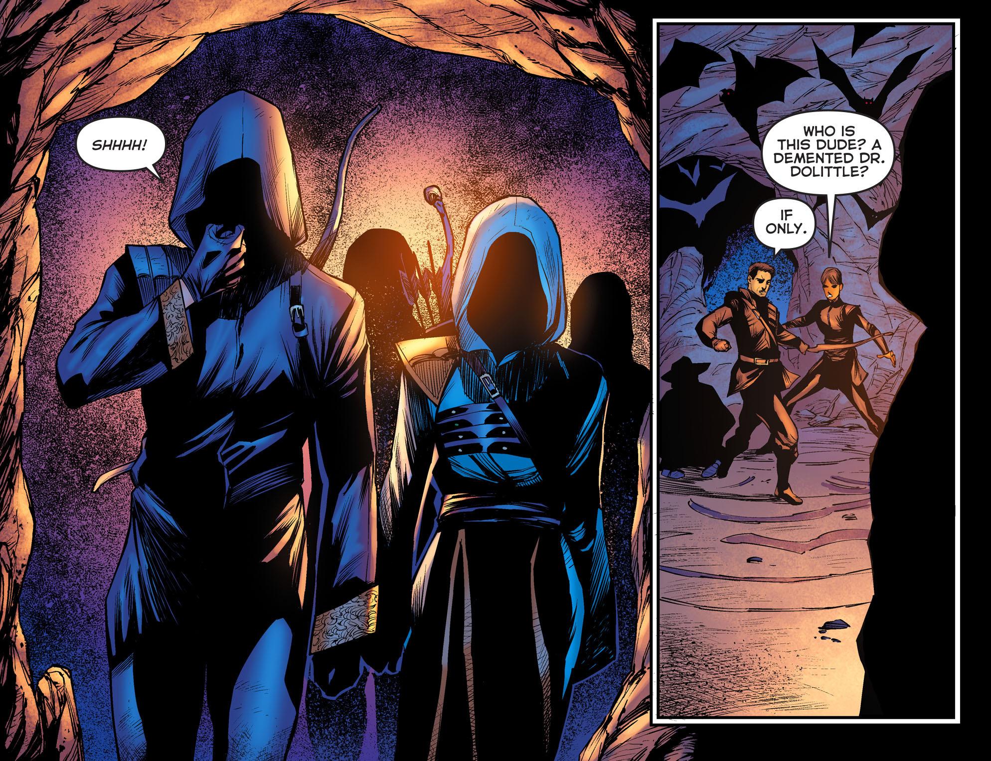 Read online Arrow: The Dark Archer comic -  Issue #3 - 20