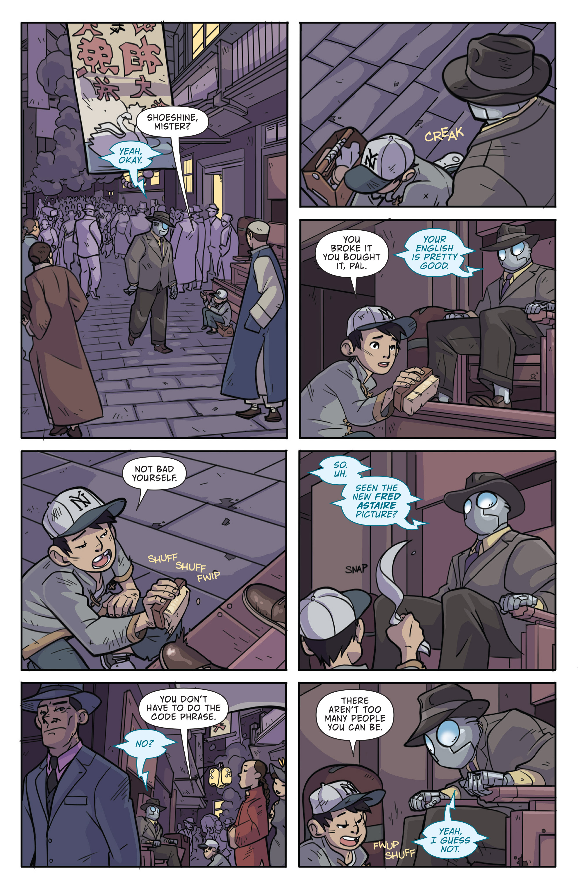 Read online Atomic Robo and the Temple of Od comic -  Issue #1 - 9