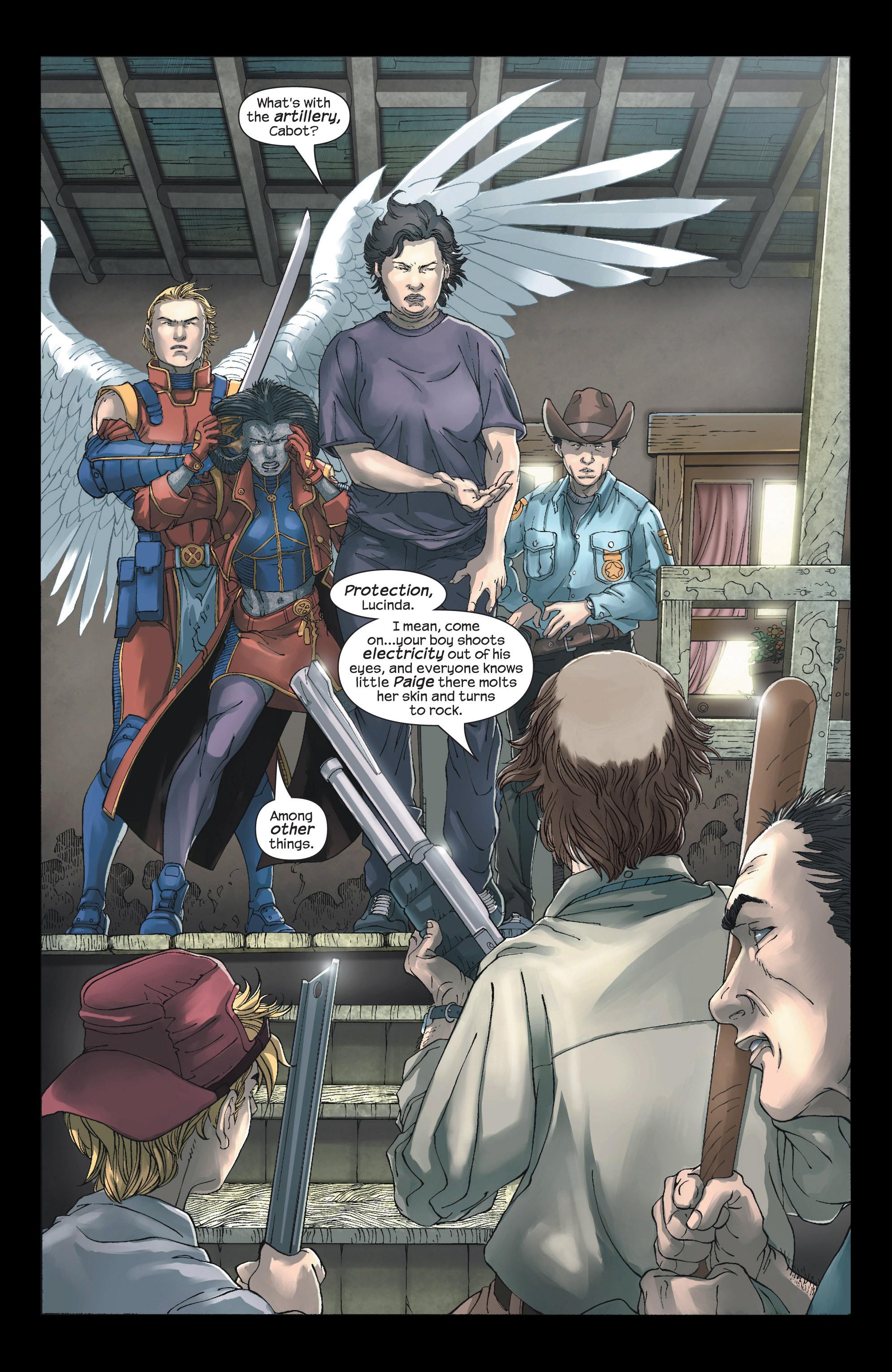Read online Uncanny X-Men (1963) comic -  Issue #438 - 4