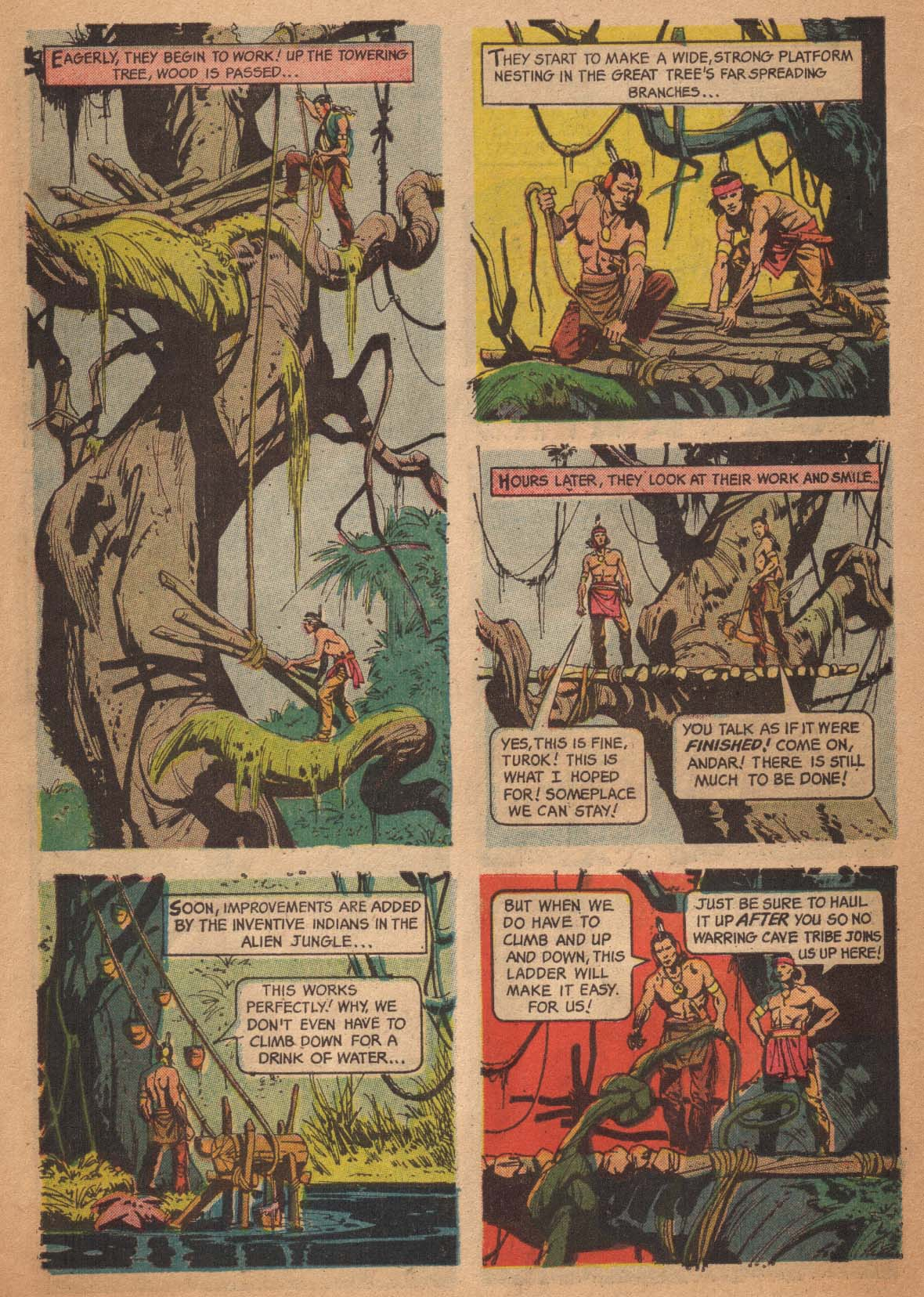 Read online Turok, Son of Stone comic -  Issue #47 - 6