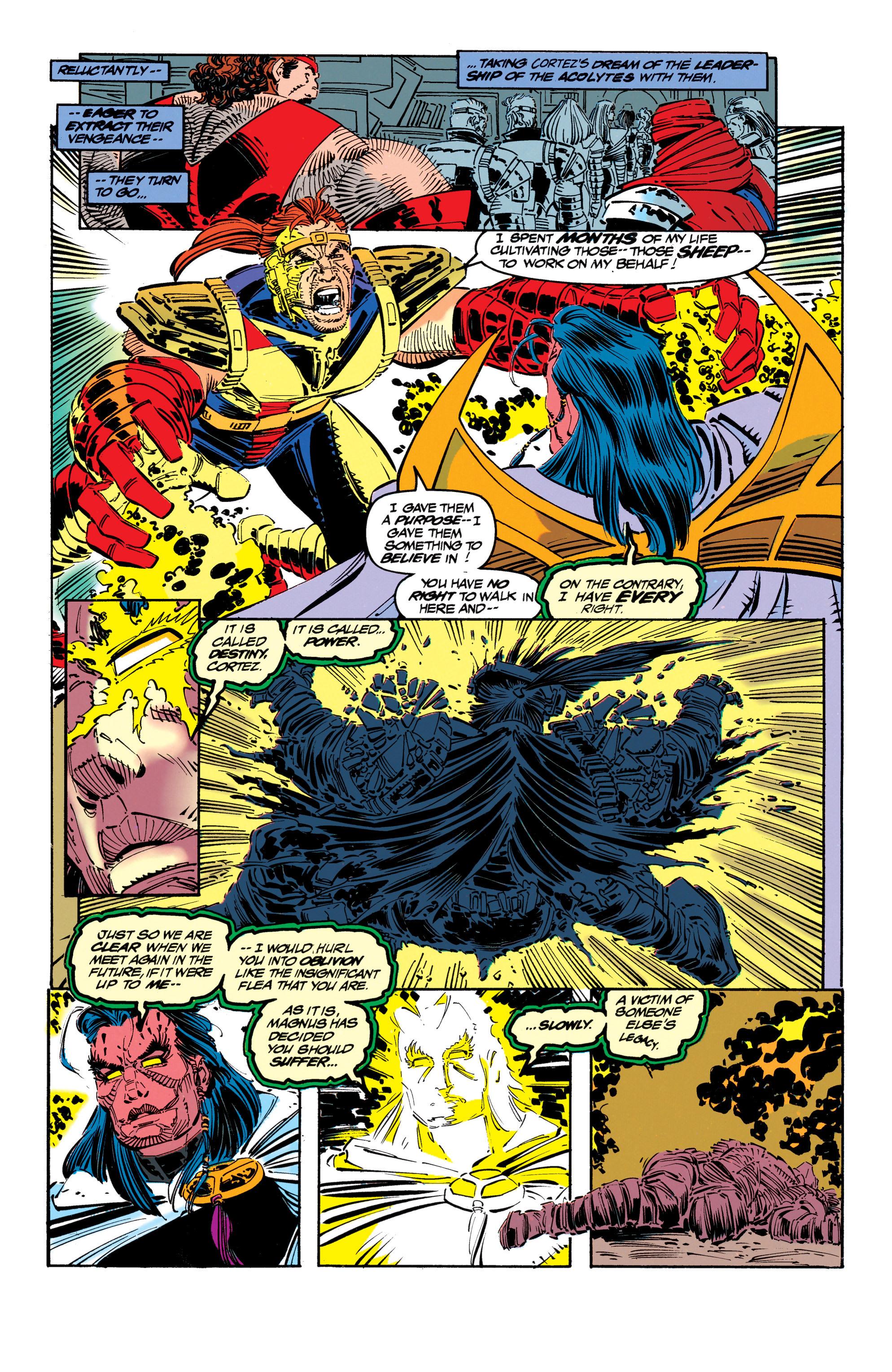 Read online Uncanny X-Men (1963) comic -  Issue #304 - 5