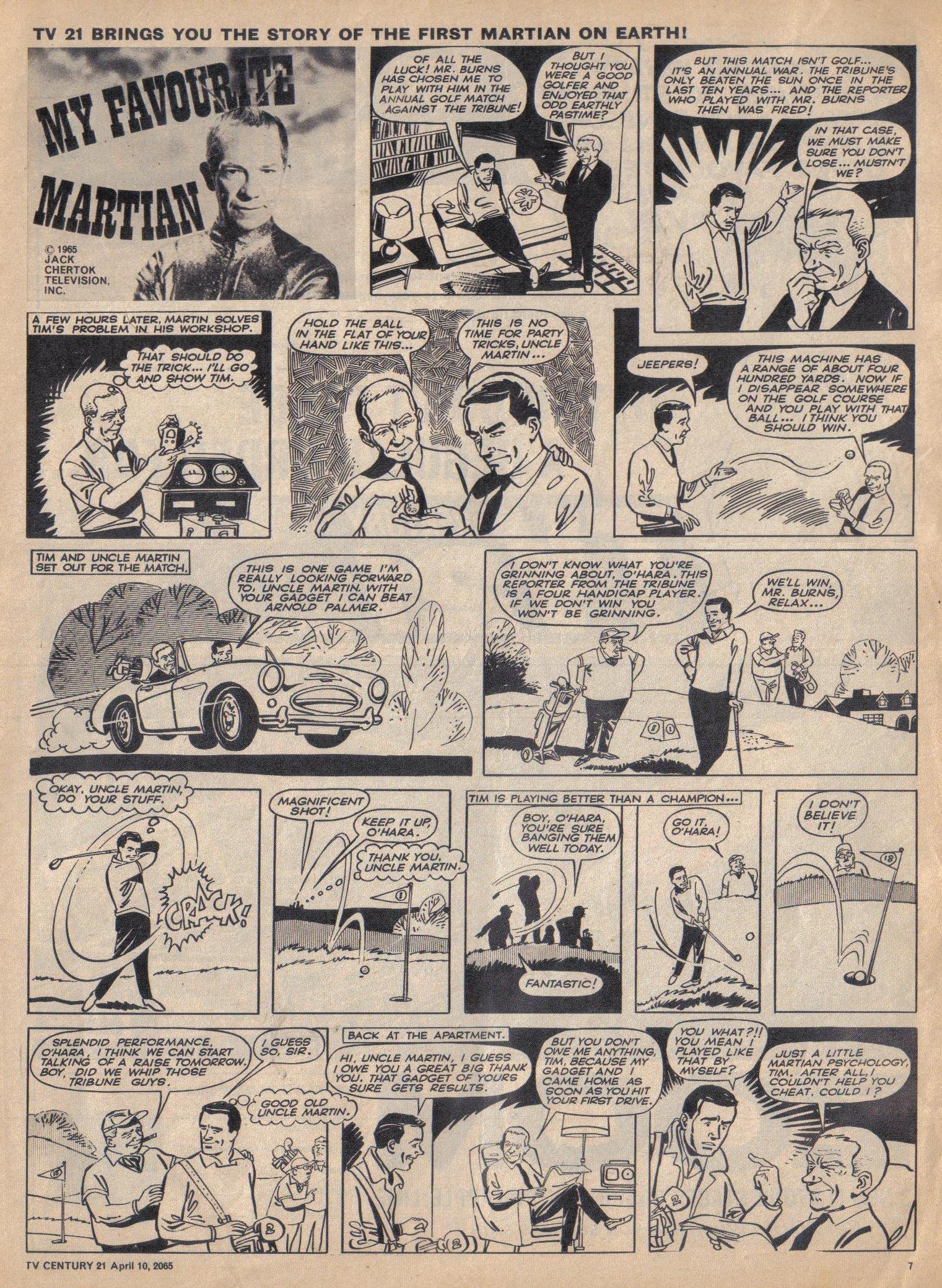 Read online TV Century 21 (TV 21) comic -  Issue #12 - 7