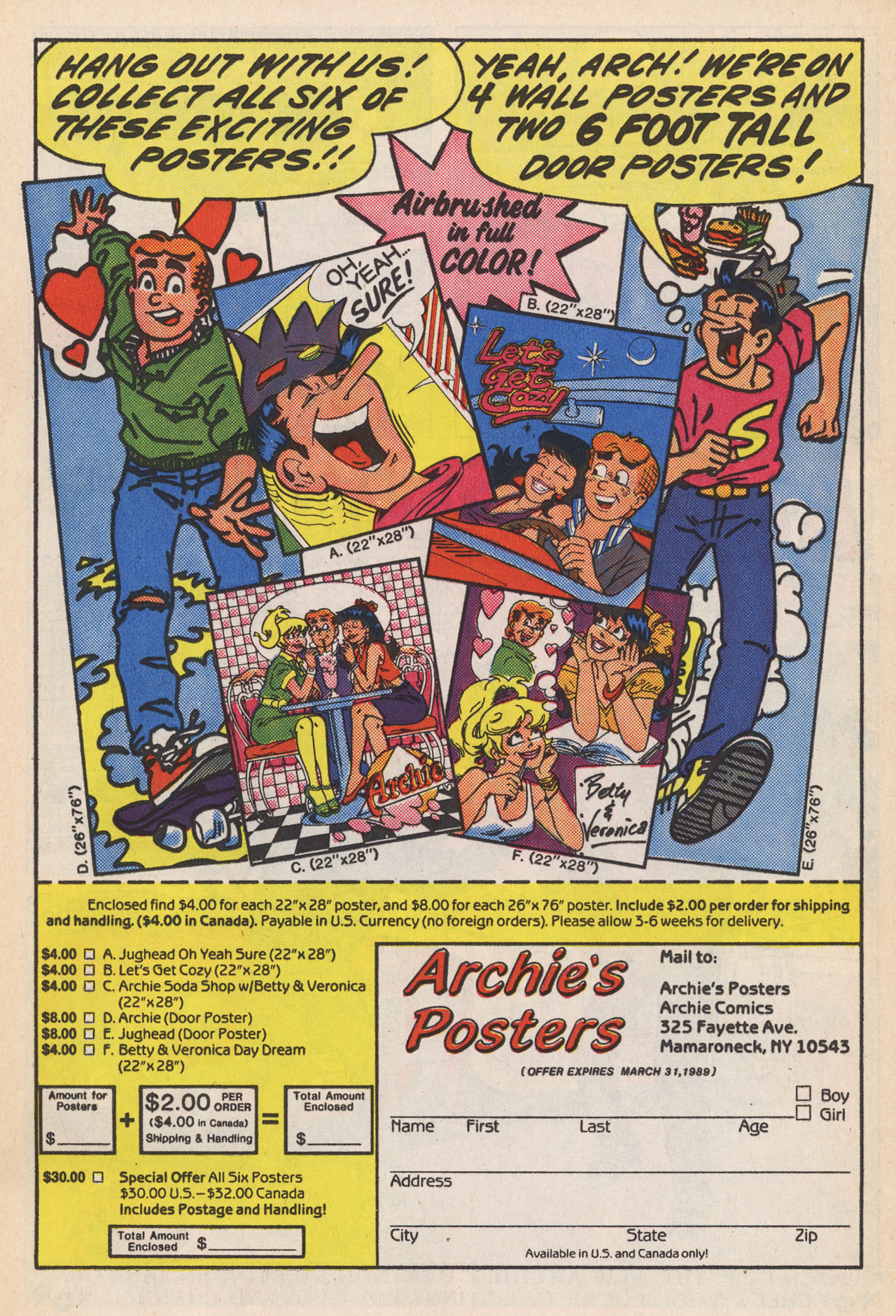 Read online Archie (1960) comic -  Issue #364 - 19
